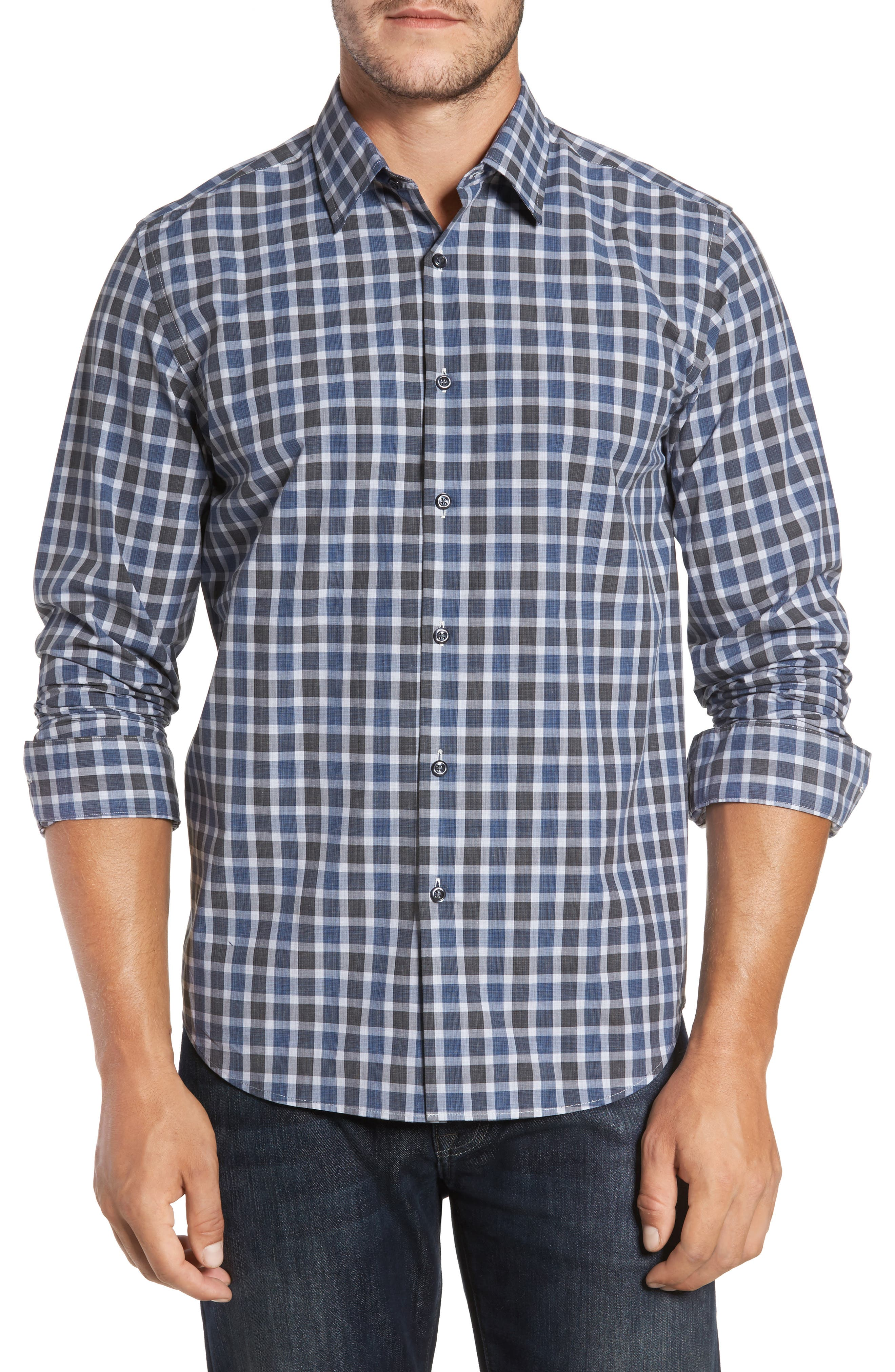Robert Barakett Axel Regular Fit Check Sport Shirt
