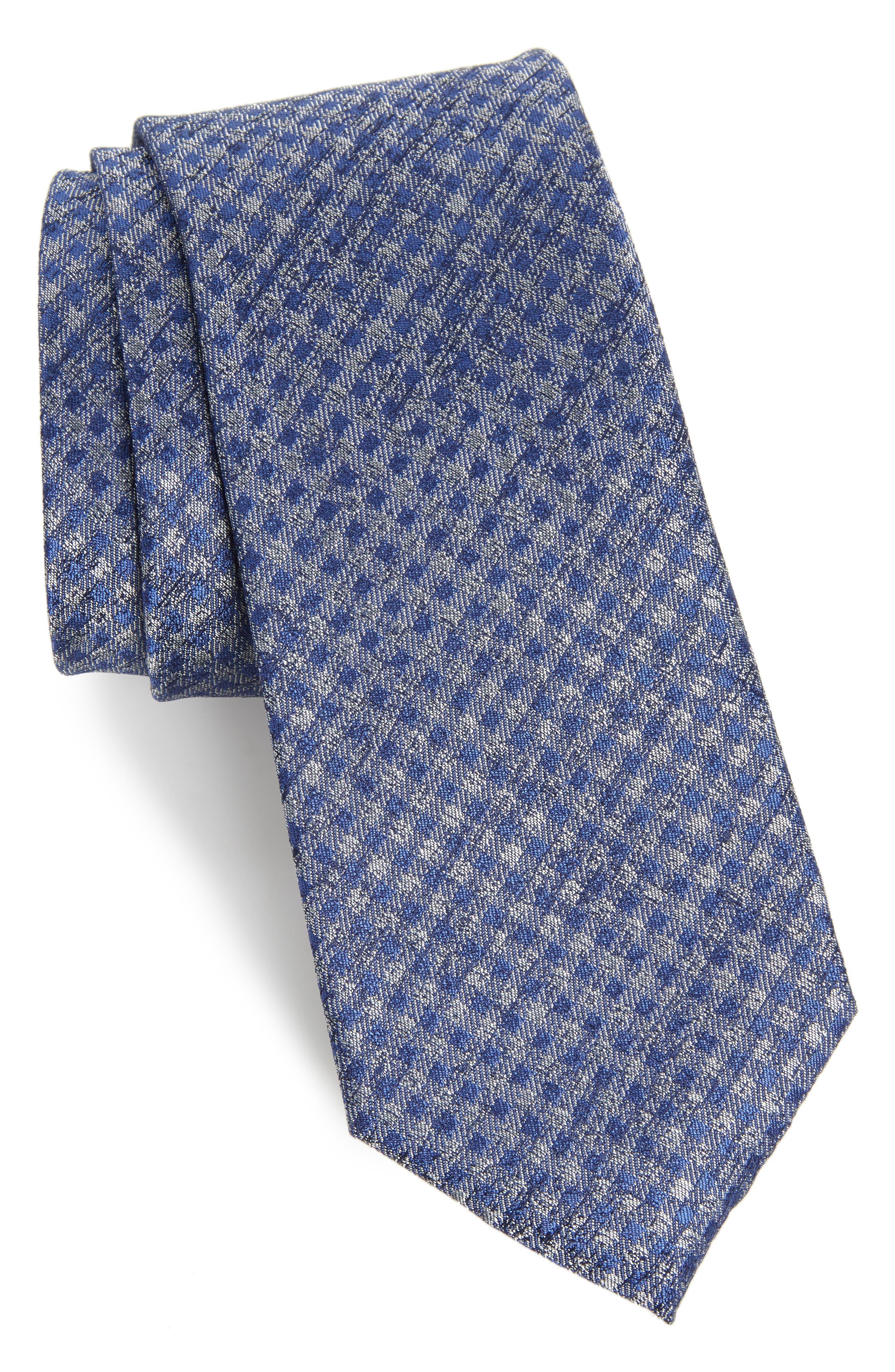 Alternate Image 1 Selected - Calibrate Porter Check Silk Tie