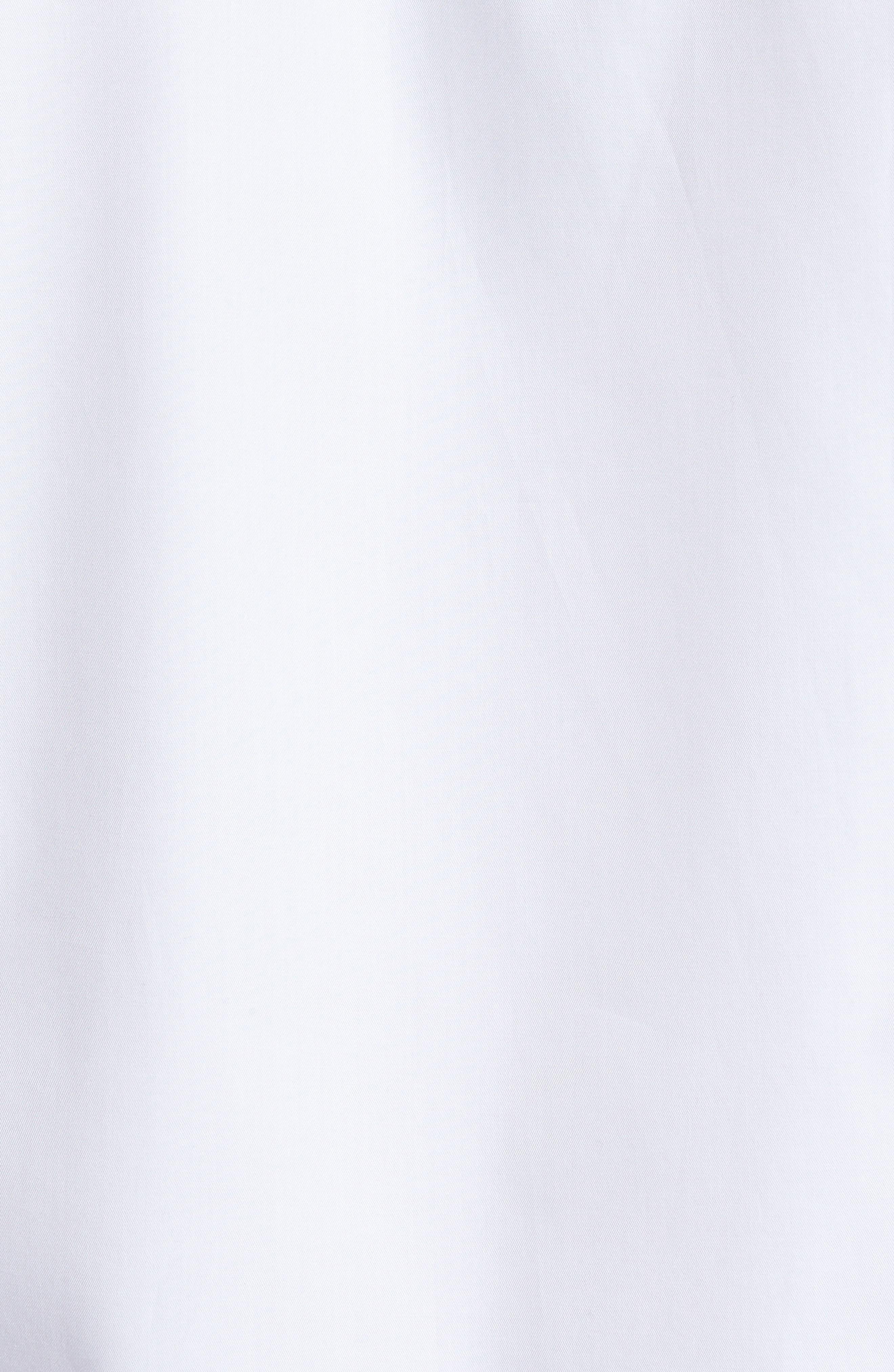 Classic Fit Sport Shirt,                             Alternate thumbnail 5, color,                             White
