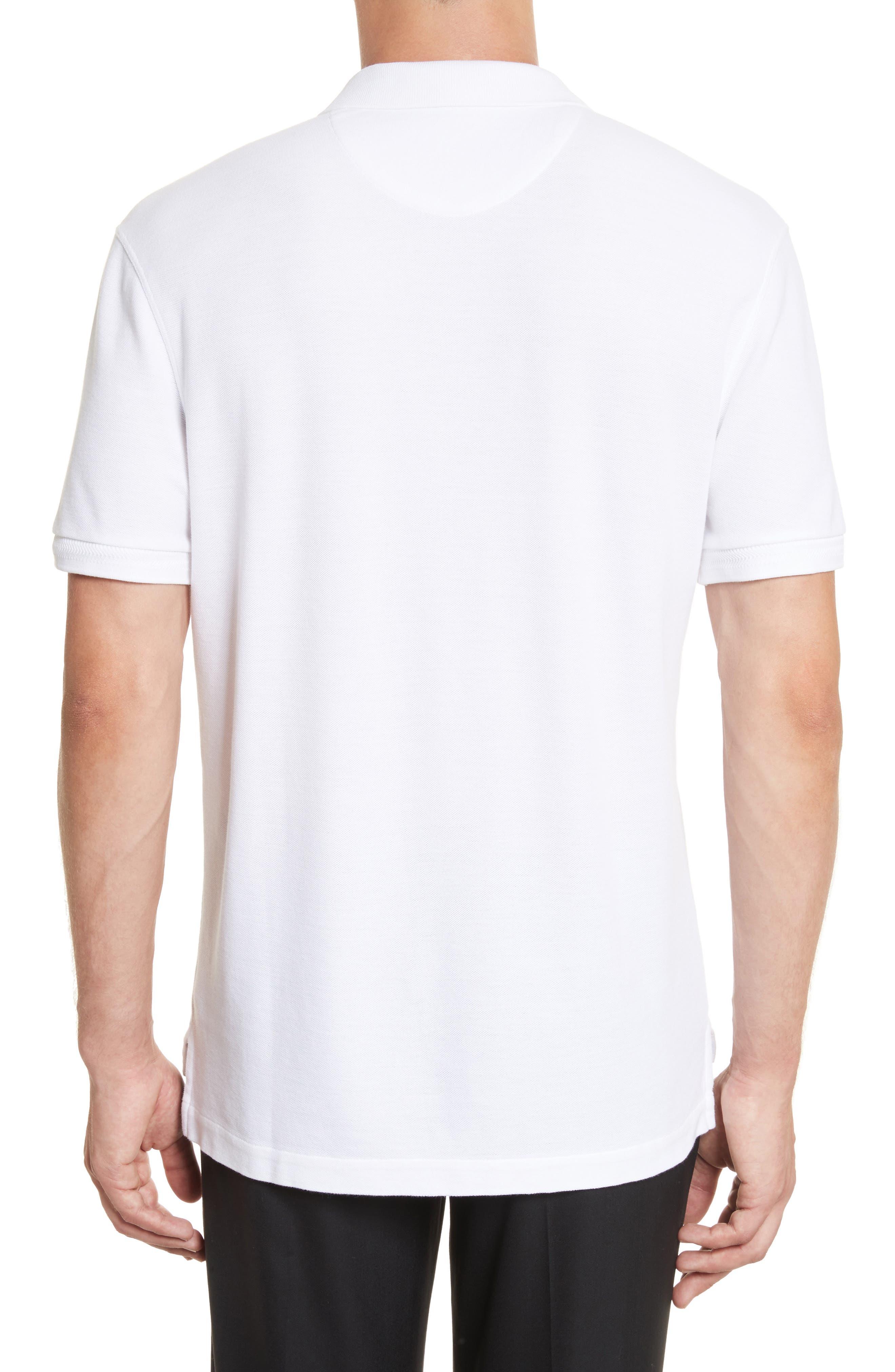 Alternate Image 2  - ATM Anthony Thomas Melillo Stitched Collar Cotton Piqué Polo