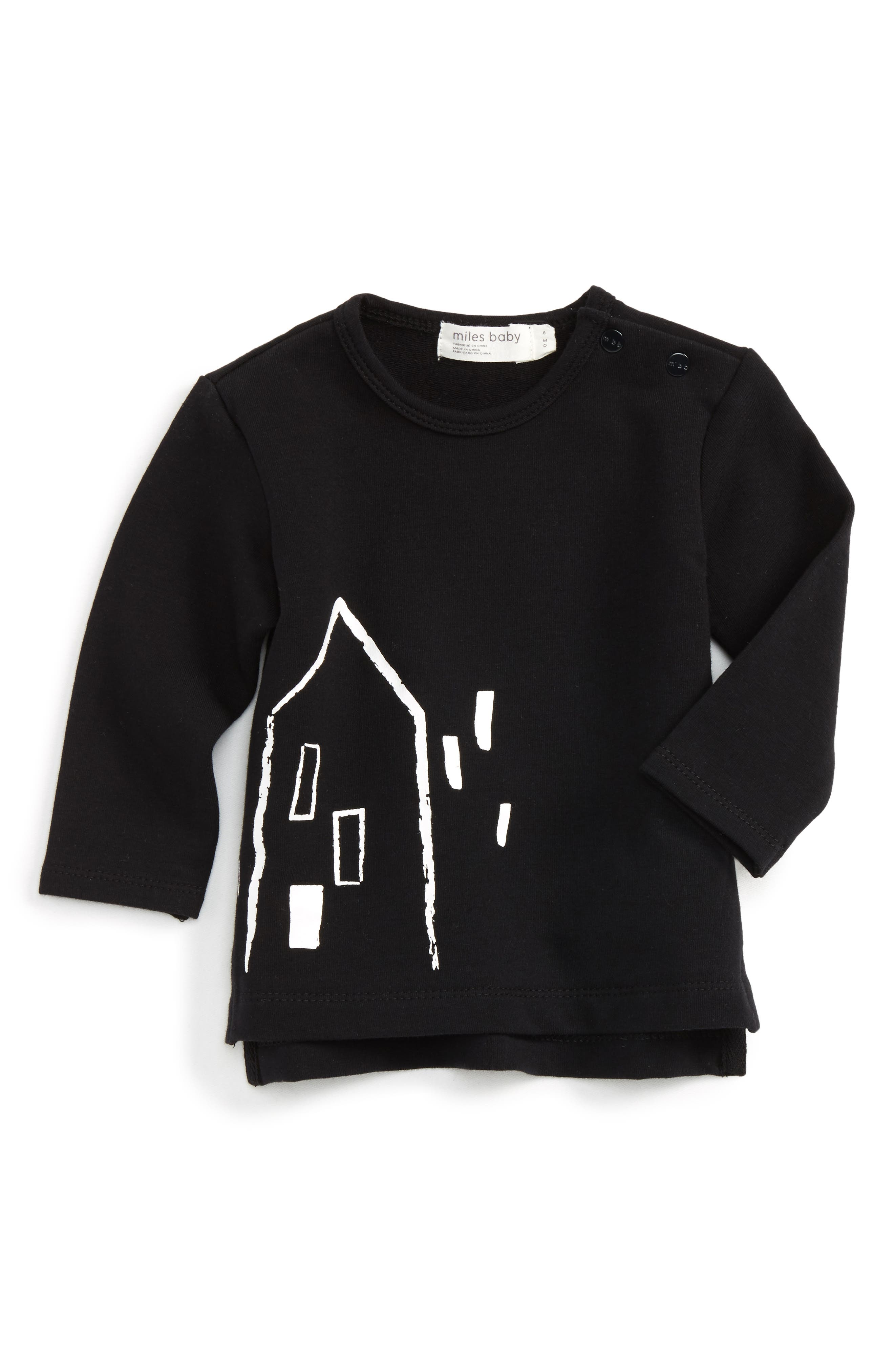 Miles Baby Graphic T-Shirt (Baby)