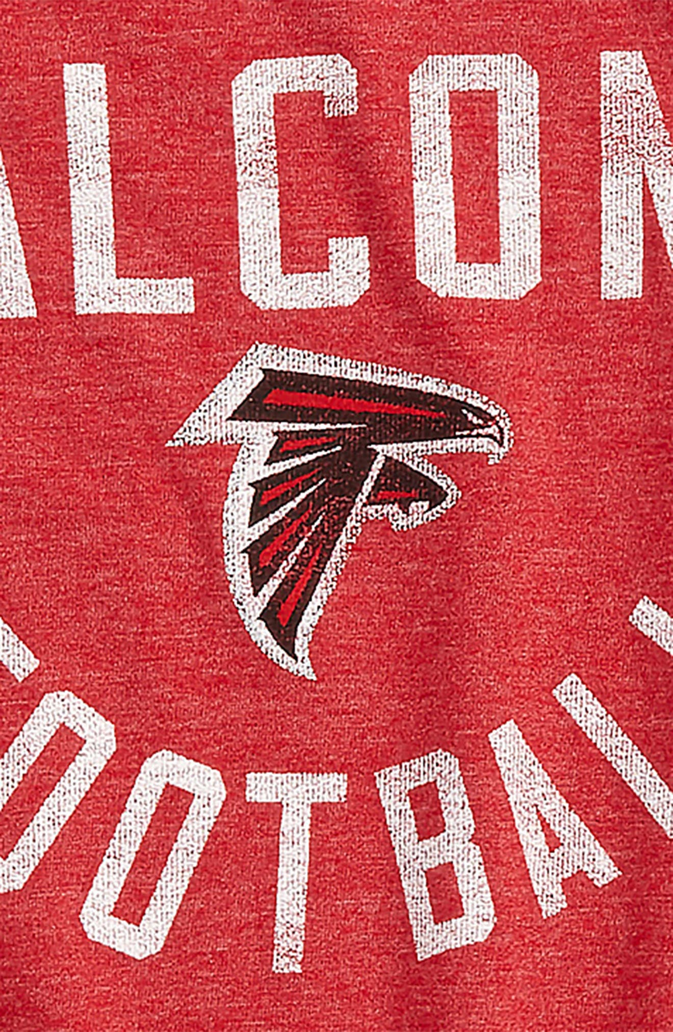 Alternate Image 2  - Outerstuff NFL Atlanta Falcons Distressed Logo T-Shirt (Big Boys)