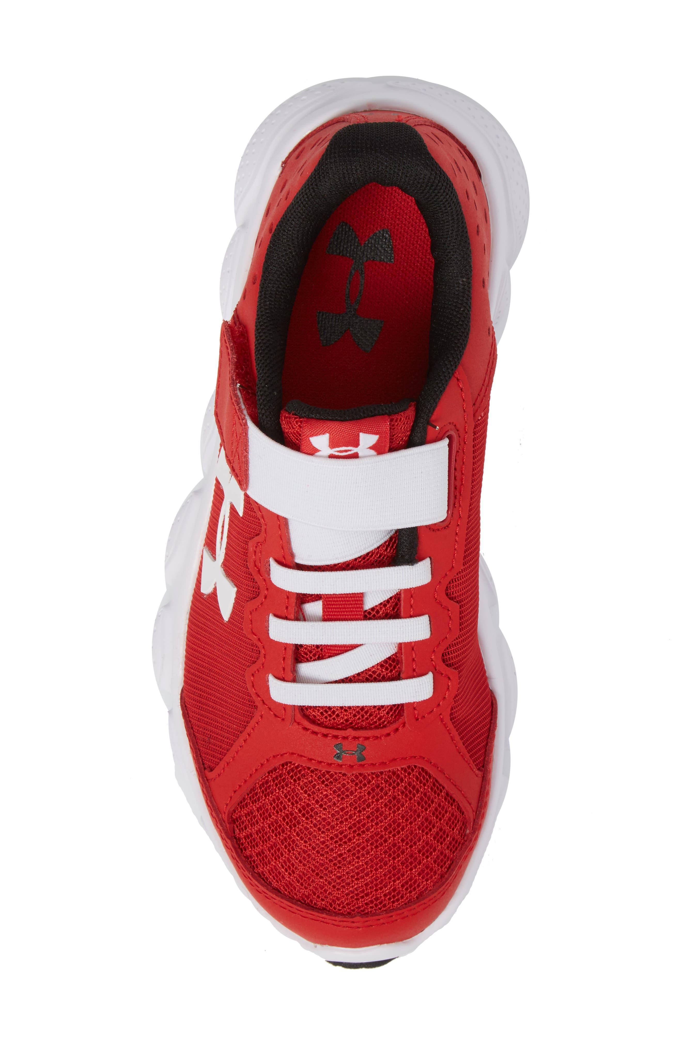 'Micro G<sup>®</sup> Assert VI' Running Shoe,                             Alternate thumbnail 5, color,                             Red/ White/ White