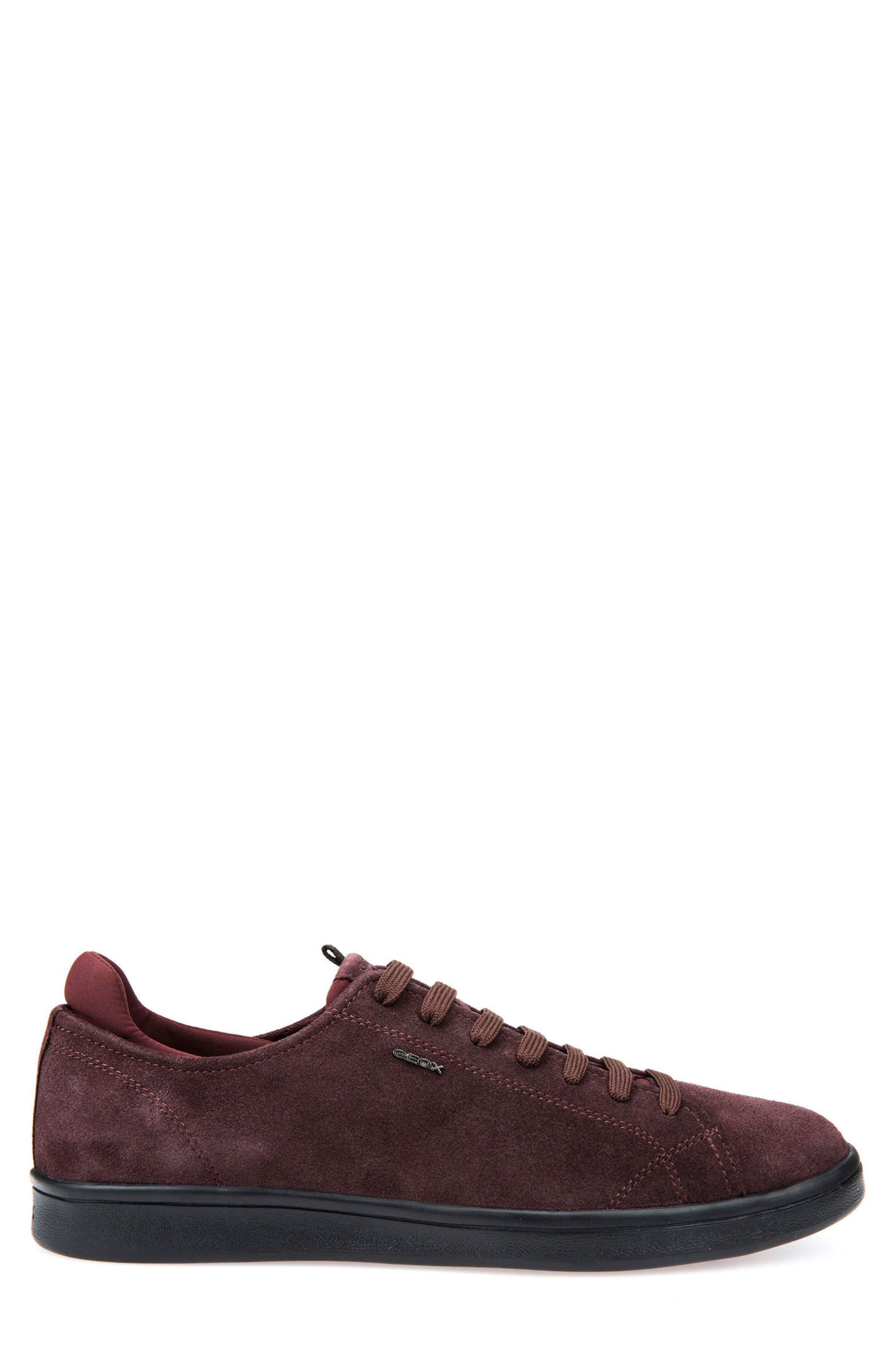 Warrens 8 Low-Top Sneaker,                             Alternate thumbnail 3, color,                             Bordeaux