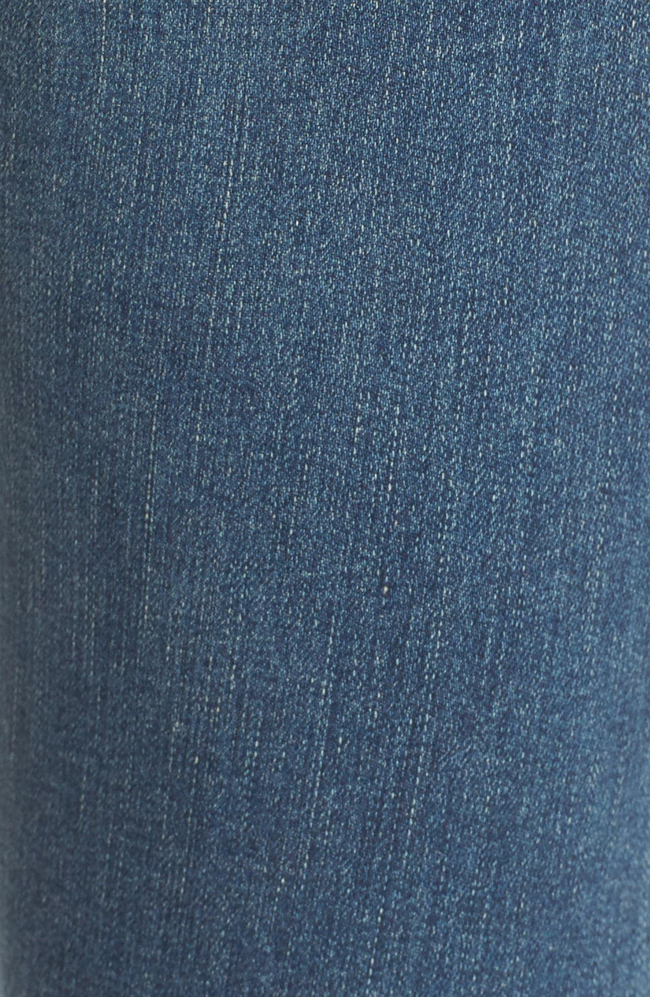 Alternate Image 5  - AG 'The Farrah' High Rise Skinny Jeans