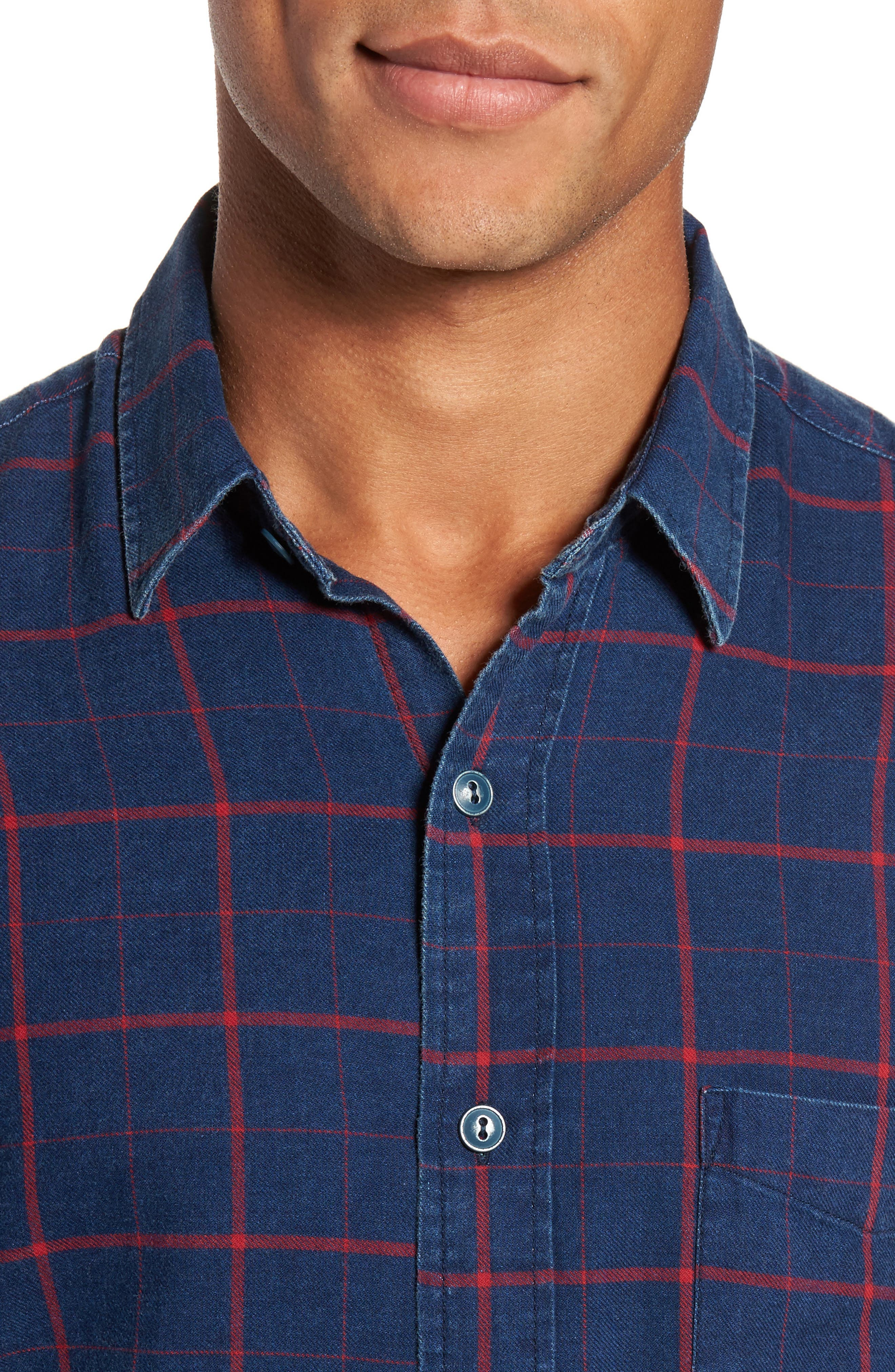 Alternate Image 4  - Faherty Check Sport Shirt