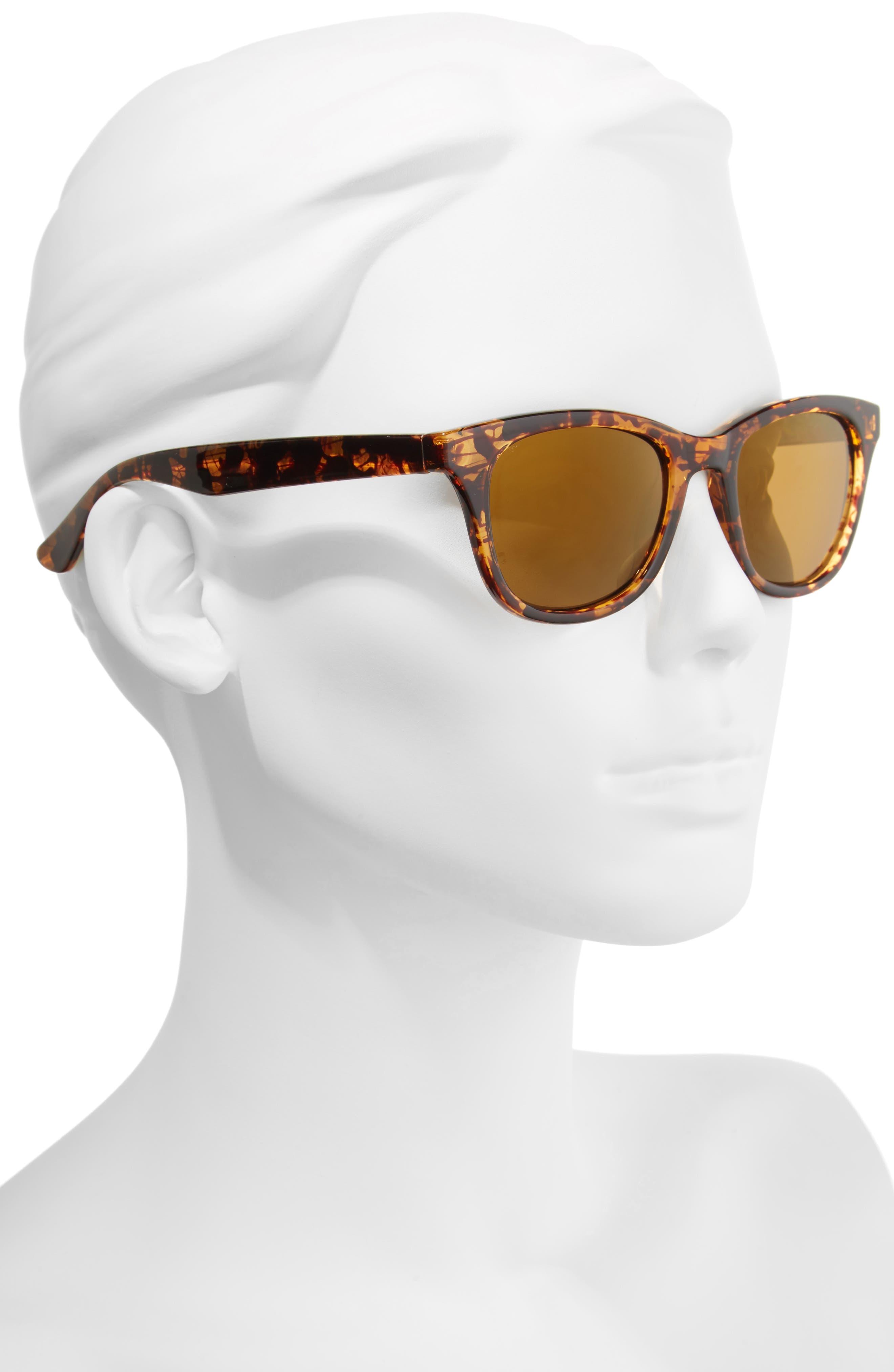Alternate Image 2  - Lilly Pulitzer® Maddie 52mm Polarized Mirrored Sunglasses