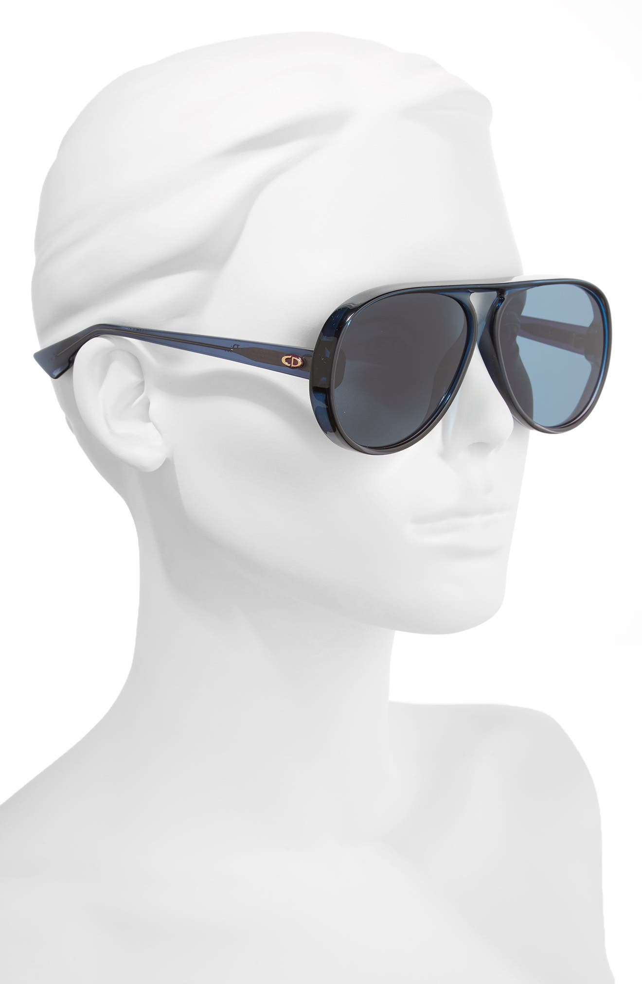 Alternate Image 3  - Dior Lia 62mm Oversize Aviator Sunglasses