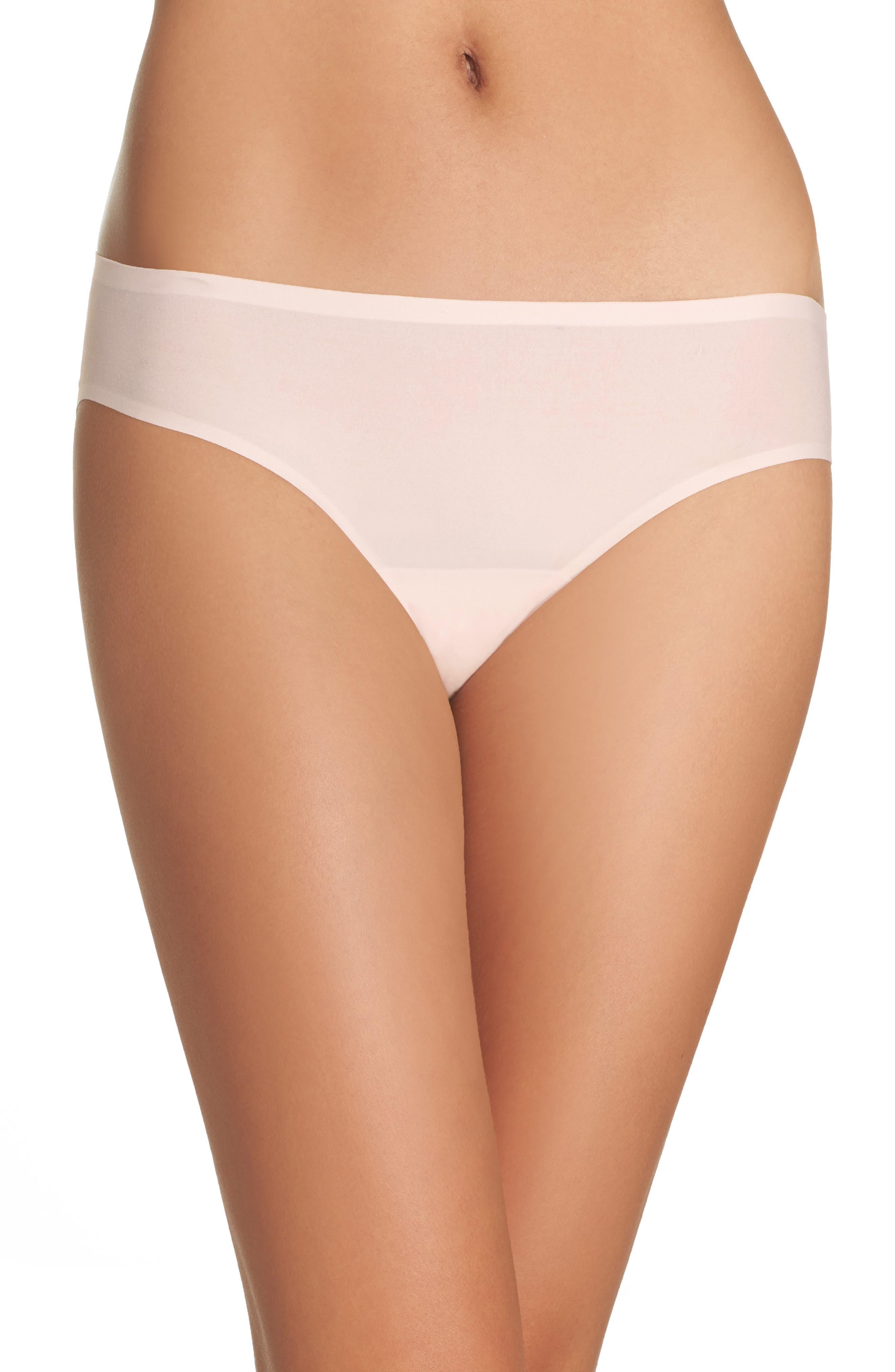 Alternate Image 1 Selected - Chantelle Intimates Soft Stretch Seamless Bikini (3 for $45)