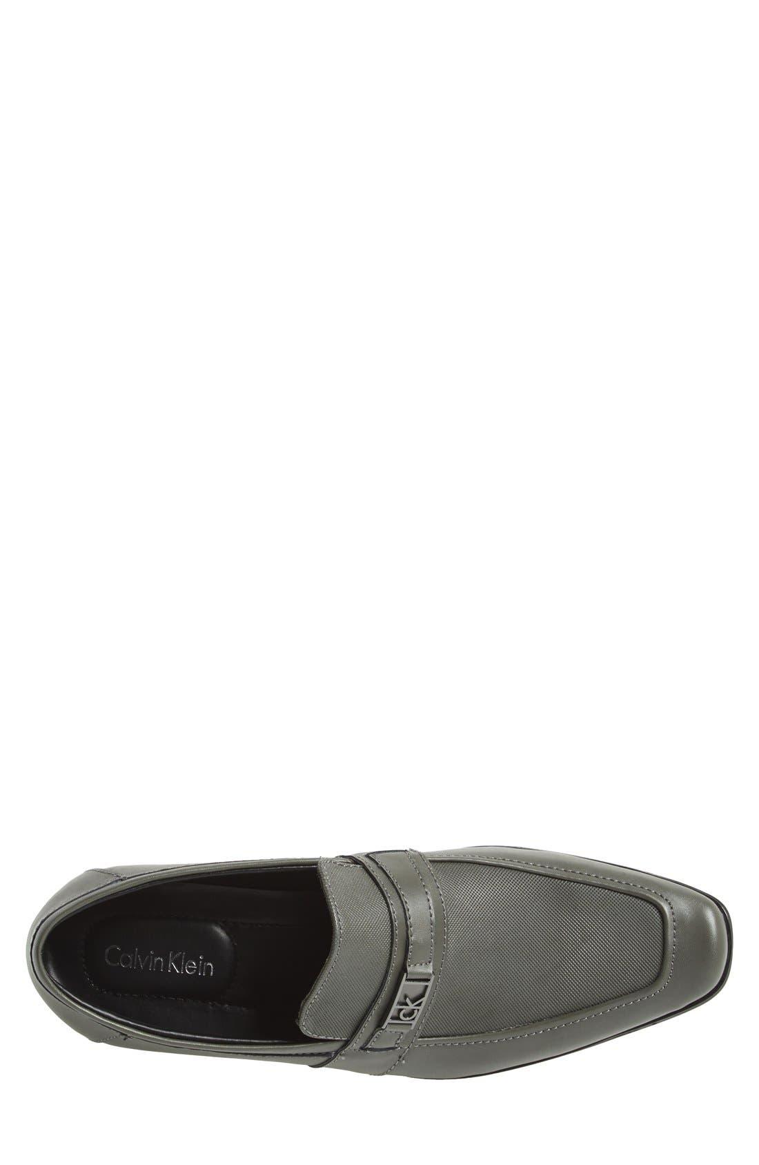 Alternate Image 3  - Calvin Klein 'Bartley' Bit Loafer (Men)