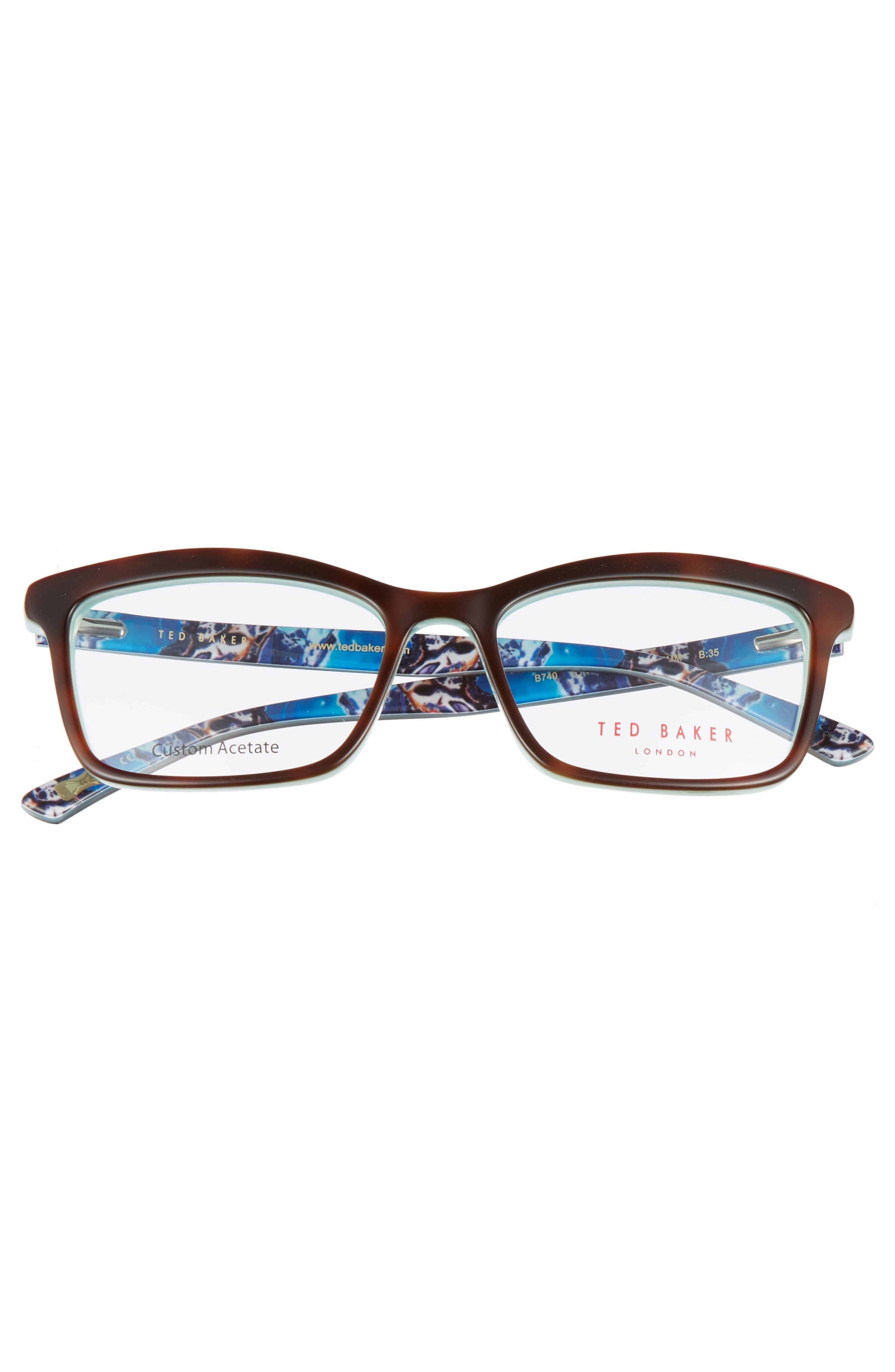 52mm Optical Glasses,                             Alternate thumbnail 3, color,                             Tortoise