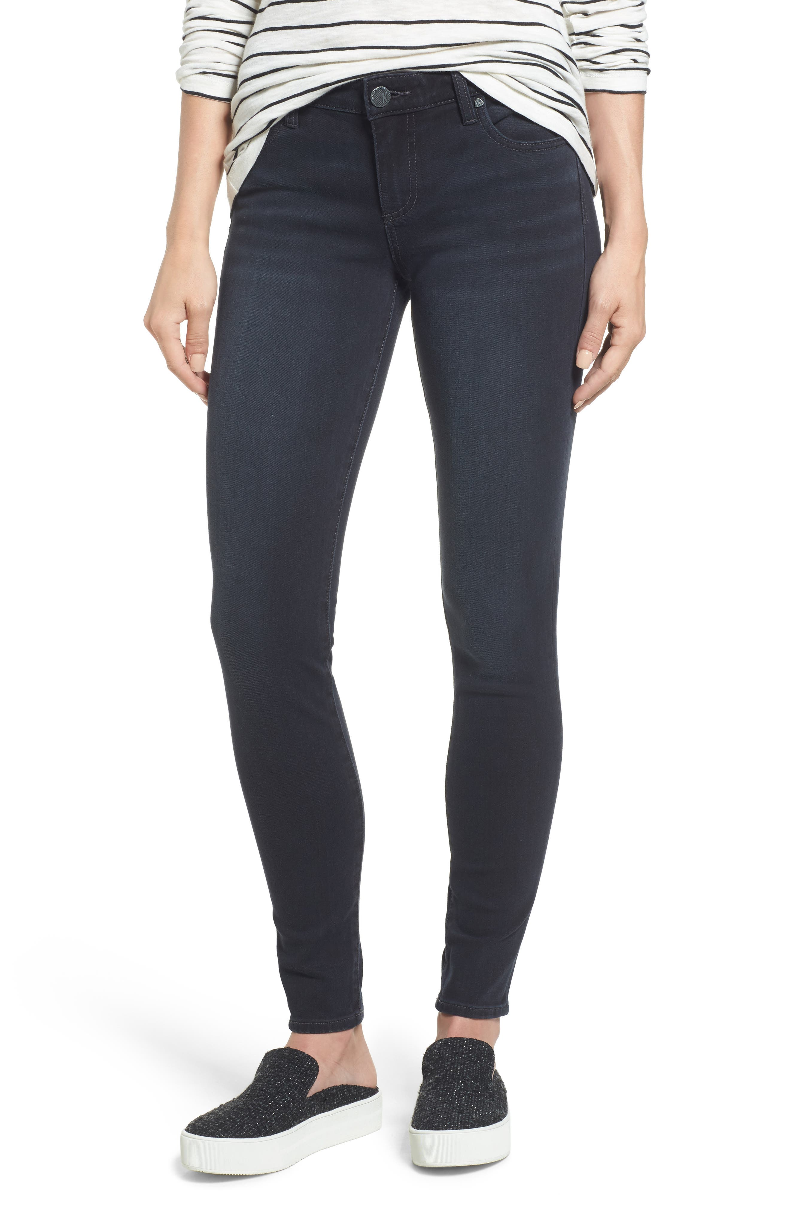 Main Image - KUT from the Kloth Mia Toothpick Skinny Jeans (Inquisitive)
