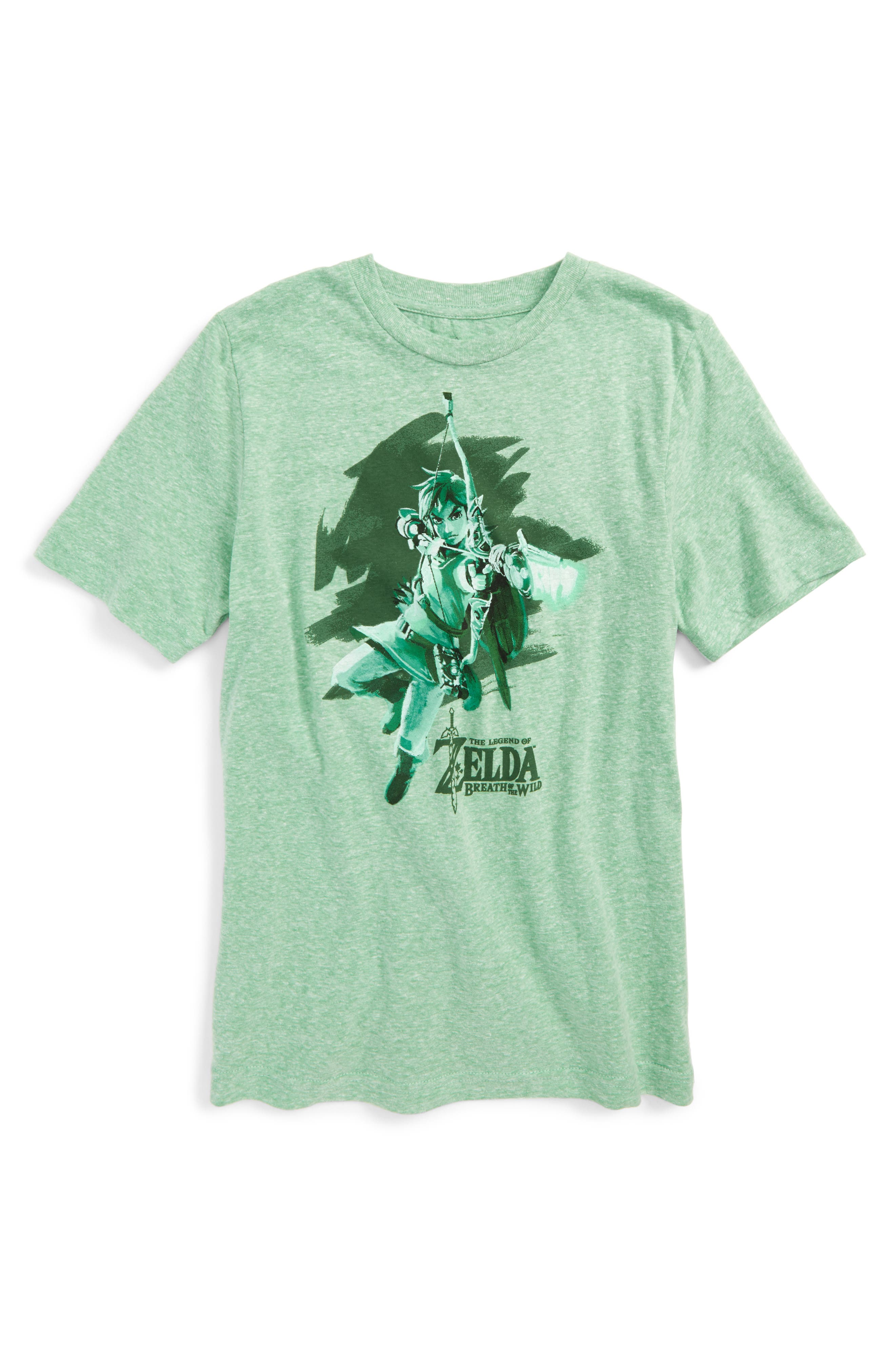 Jem x Nintendo The Legend of Zelda - Link T-Shirt (Big Boys)