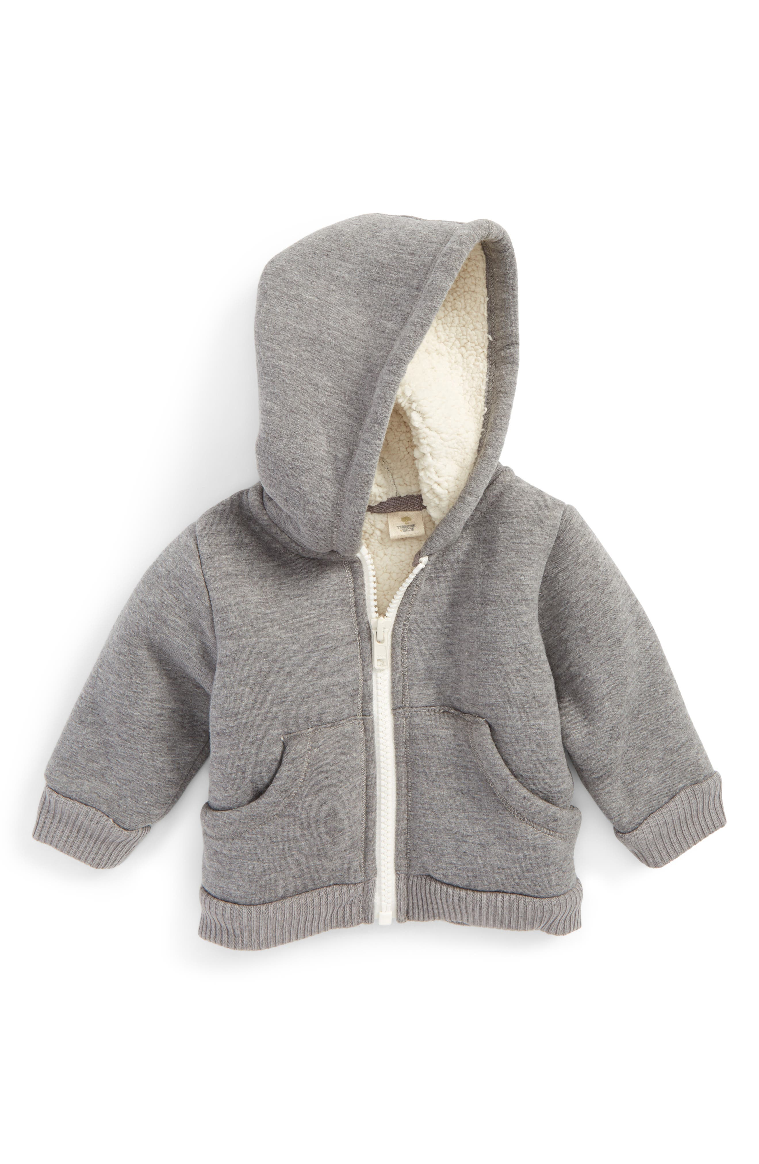 Alternate Image 1 Selected - Tucker + Tate Fuzzy Lined Jacket (Baby)