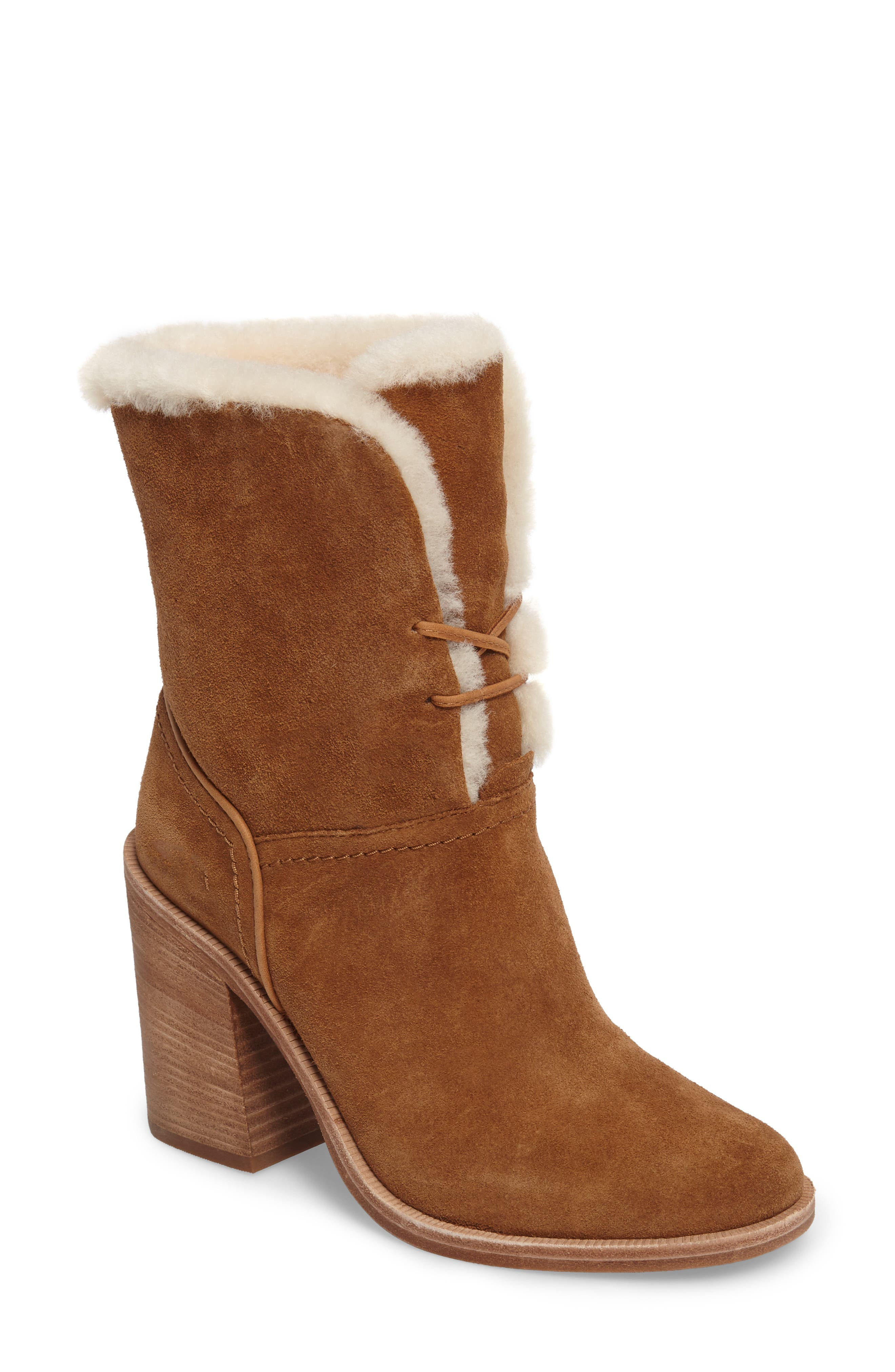 UGG® Jerene Genuine Shearling Lined Boot (Women)