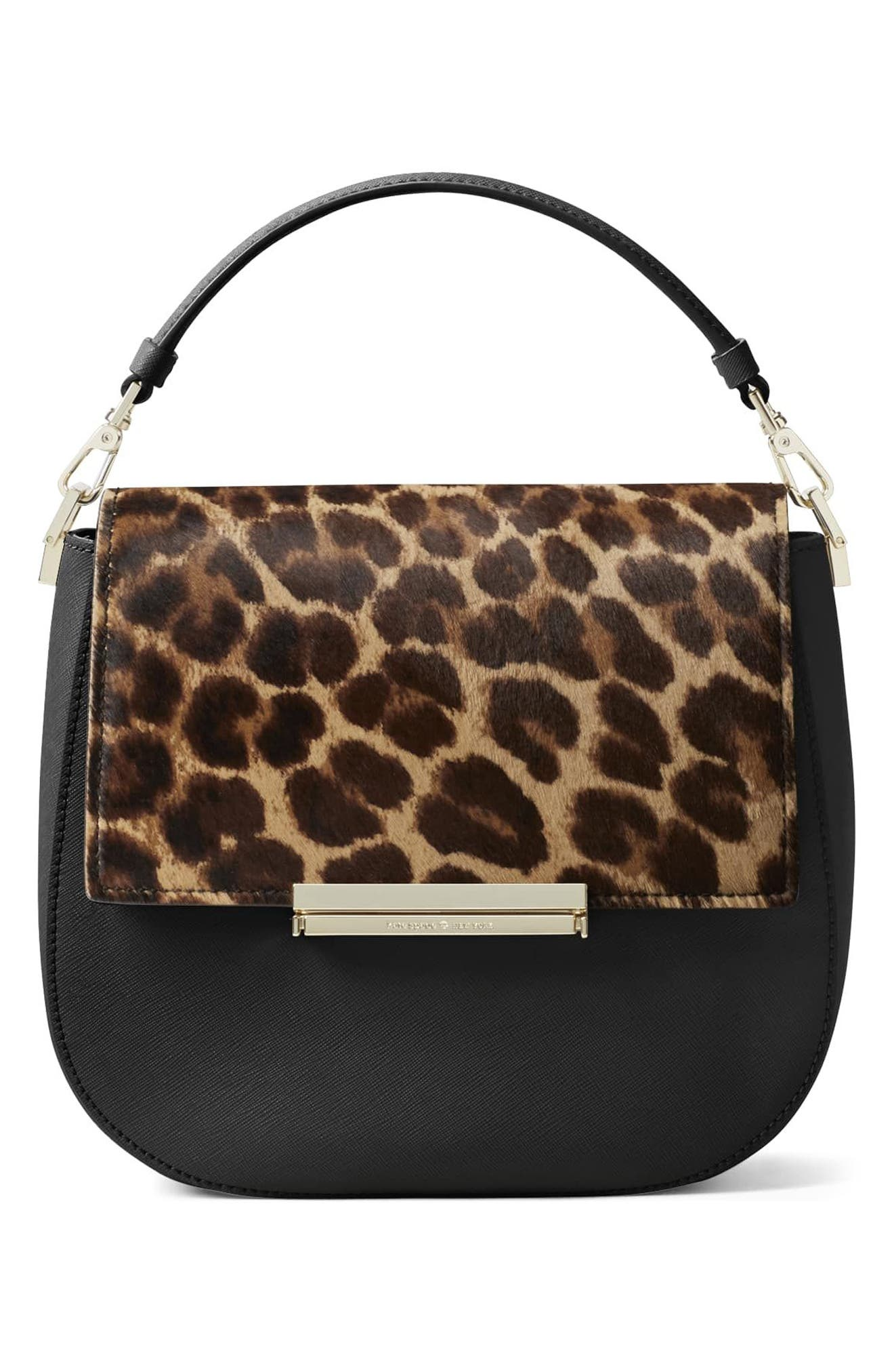 Alternate Image 3  - kate spade new york make it mine genuine calf hair snap-on accent flap