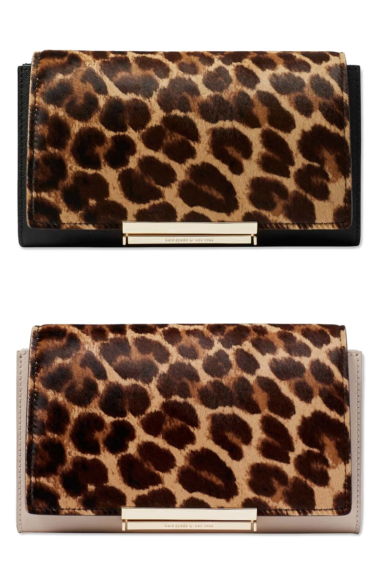 Alternate Image 6  - kate spade new york make it mine genuine calf hair snap-on accent flap