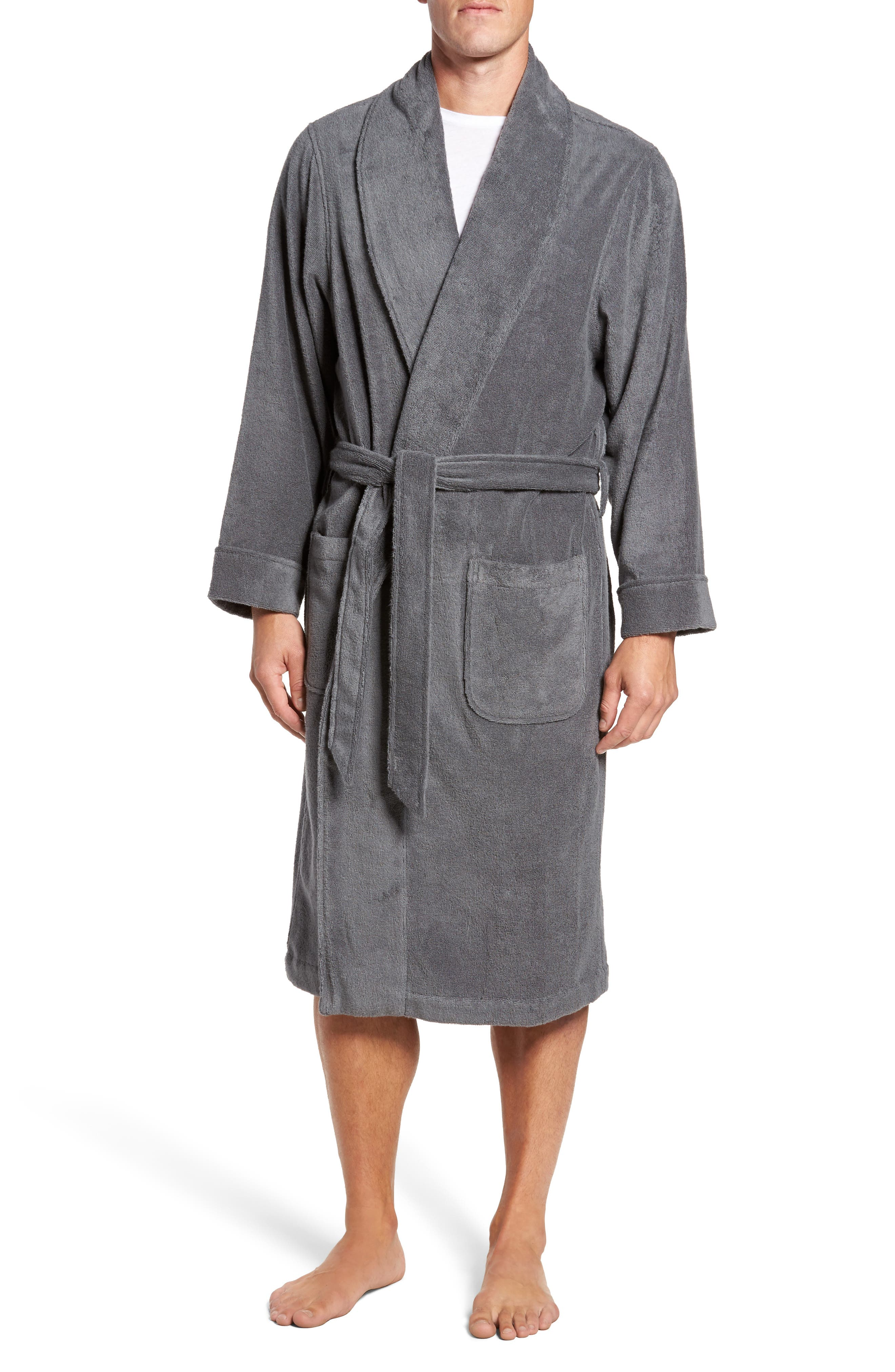 Alternate Image 1 Selected - Nordstrom Men's Shop Hydro Cotton Terry Robe