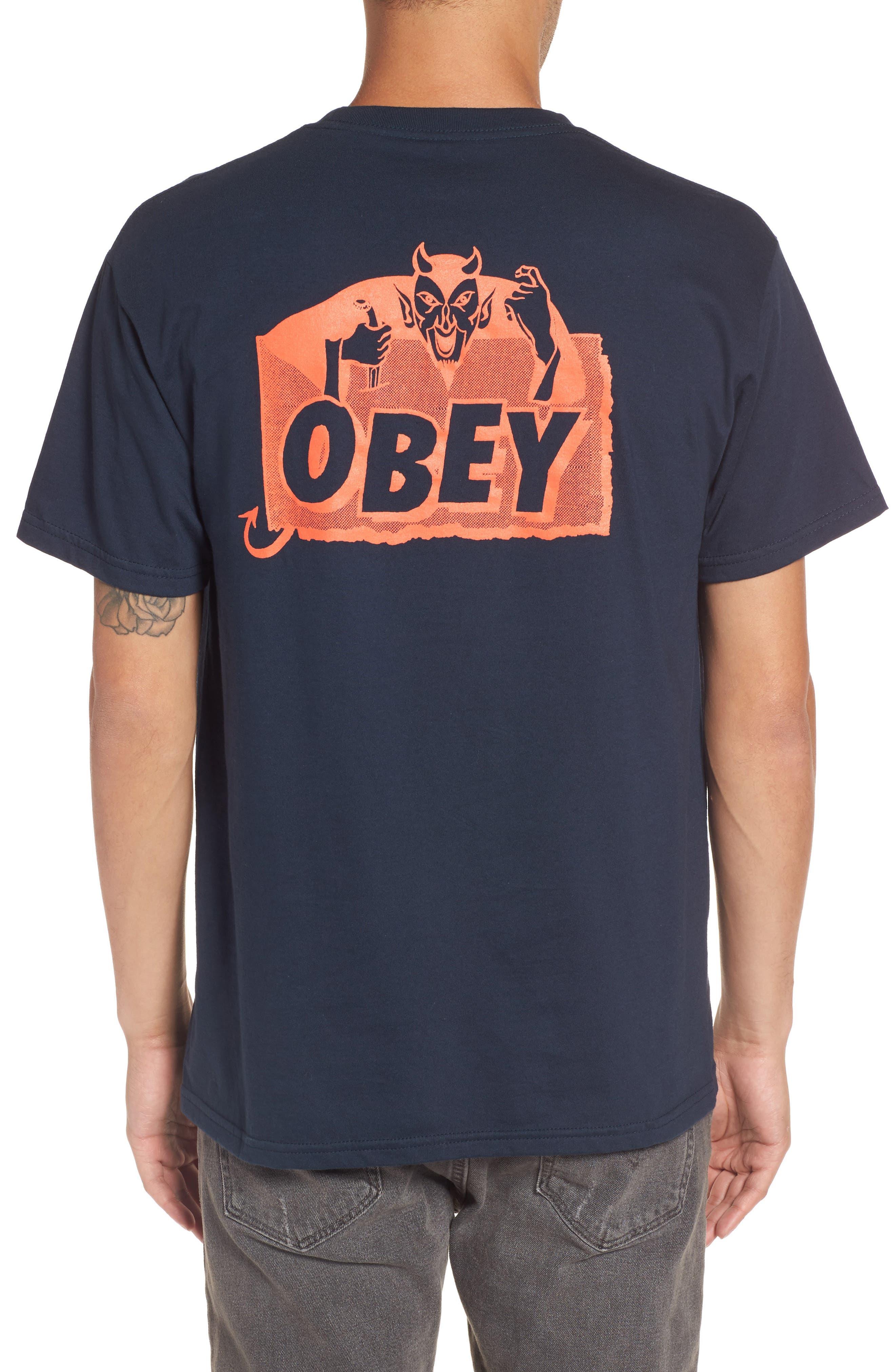 Alternate Image 2  - Obey Devil Graphic T-Shirt