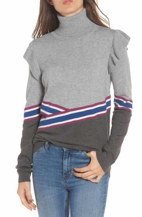 Women's Hinge Turtleneck Sweaters: Sale | Nordstrom