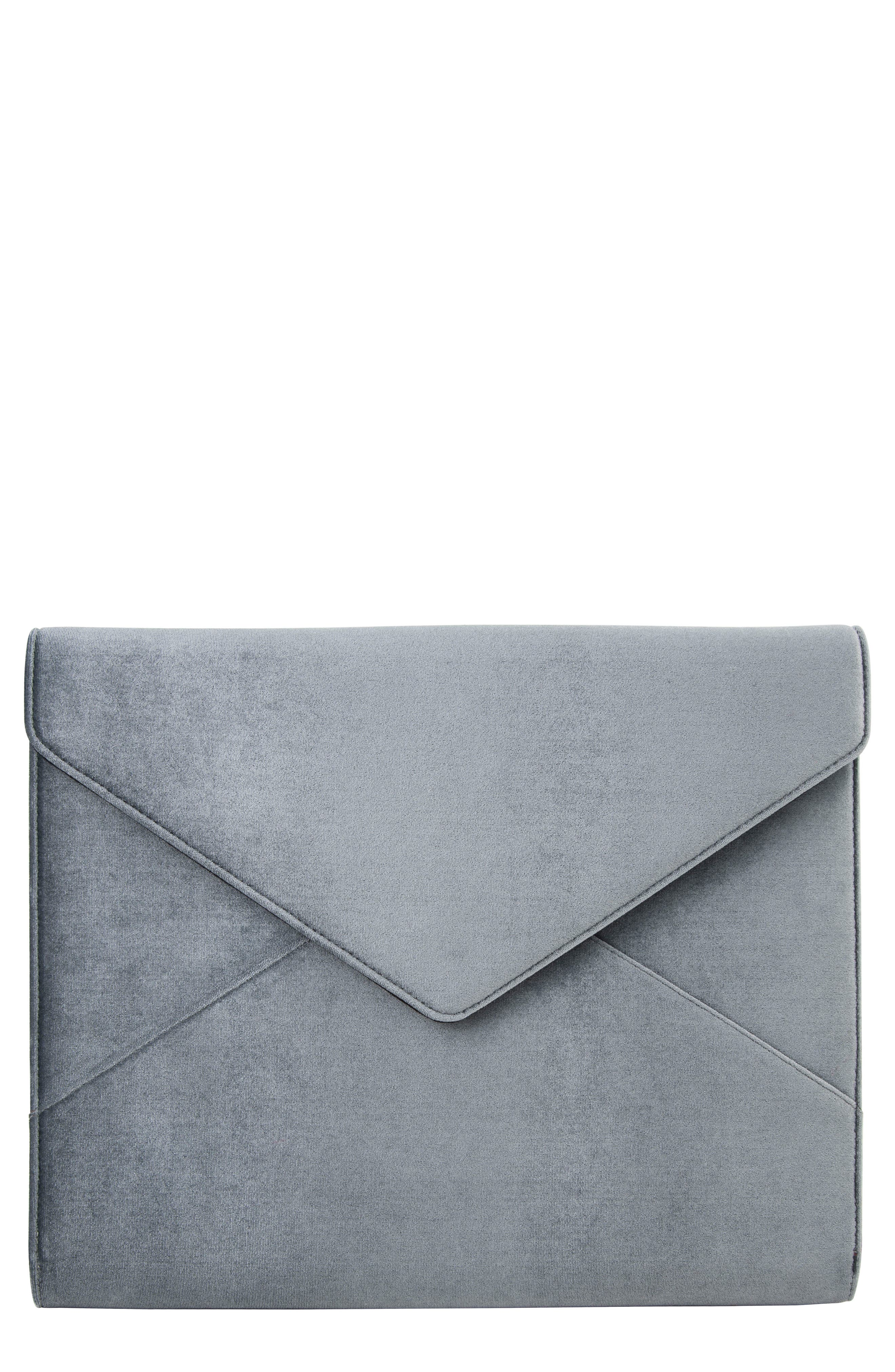 Main Image - Sonix Powder Velvet Laptop Clutch
