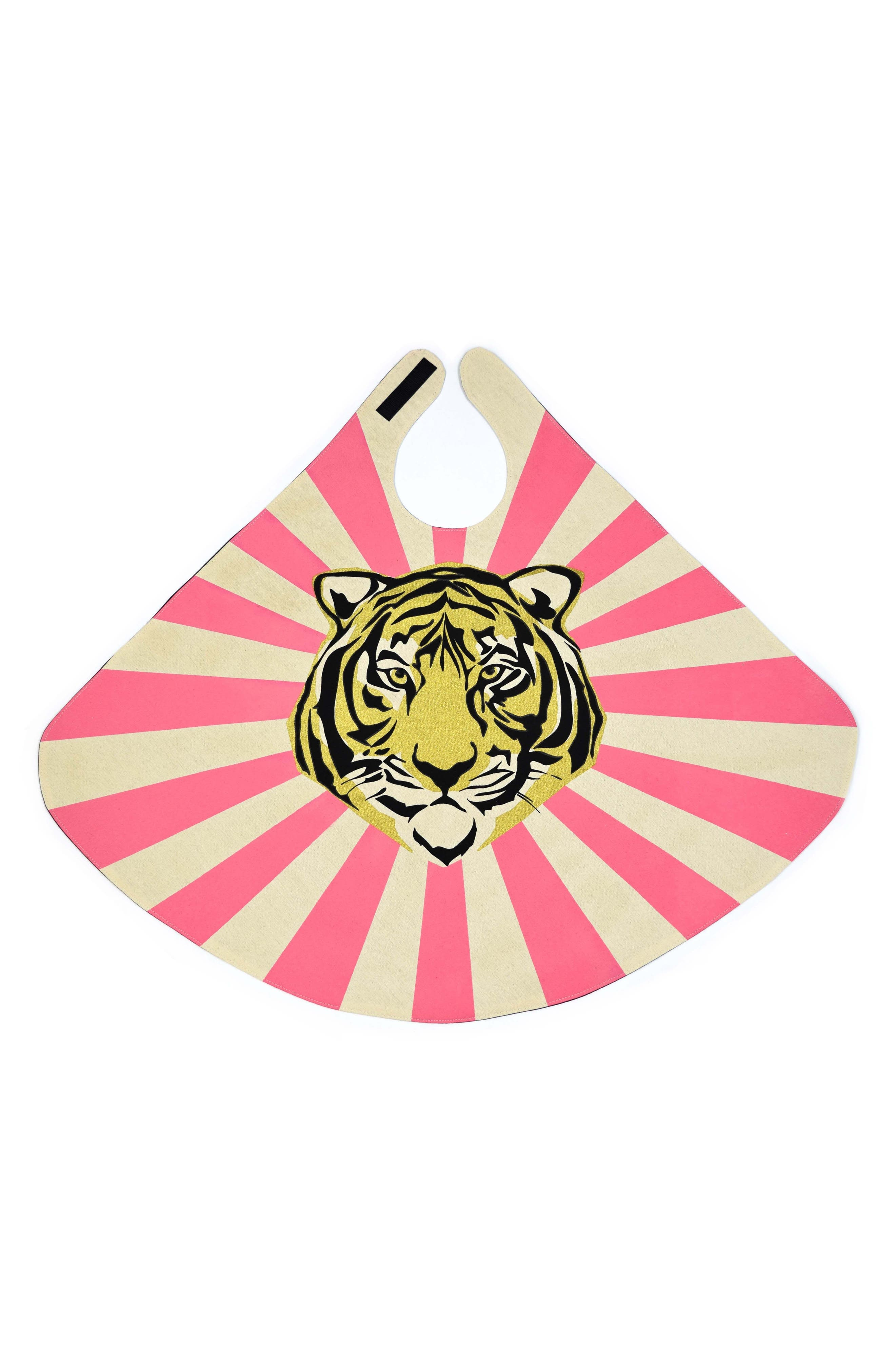 Tiger Cape,                             Main thumbnail 1, color,                             Pink