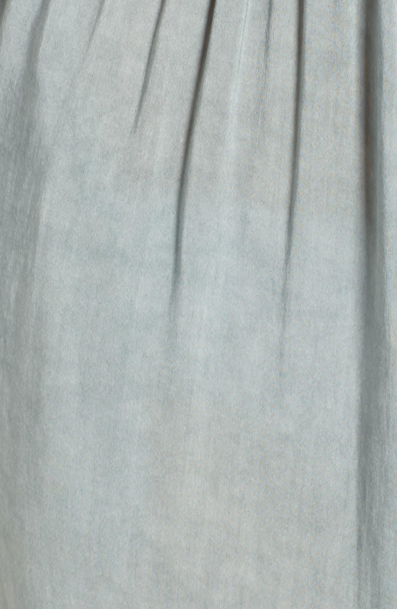 Alternate Image 5  - Elan Off the Shoulder Cover-Up Jumpsuit