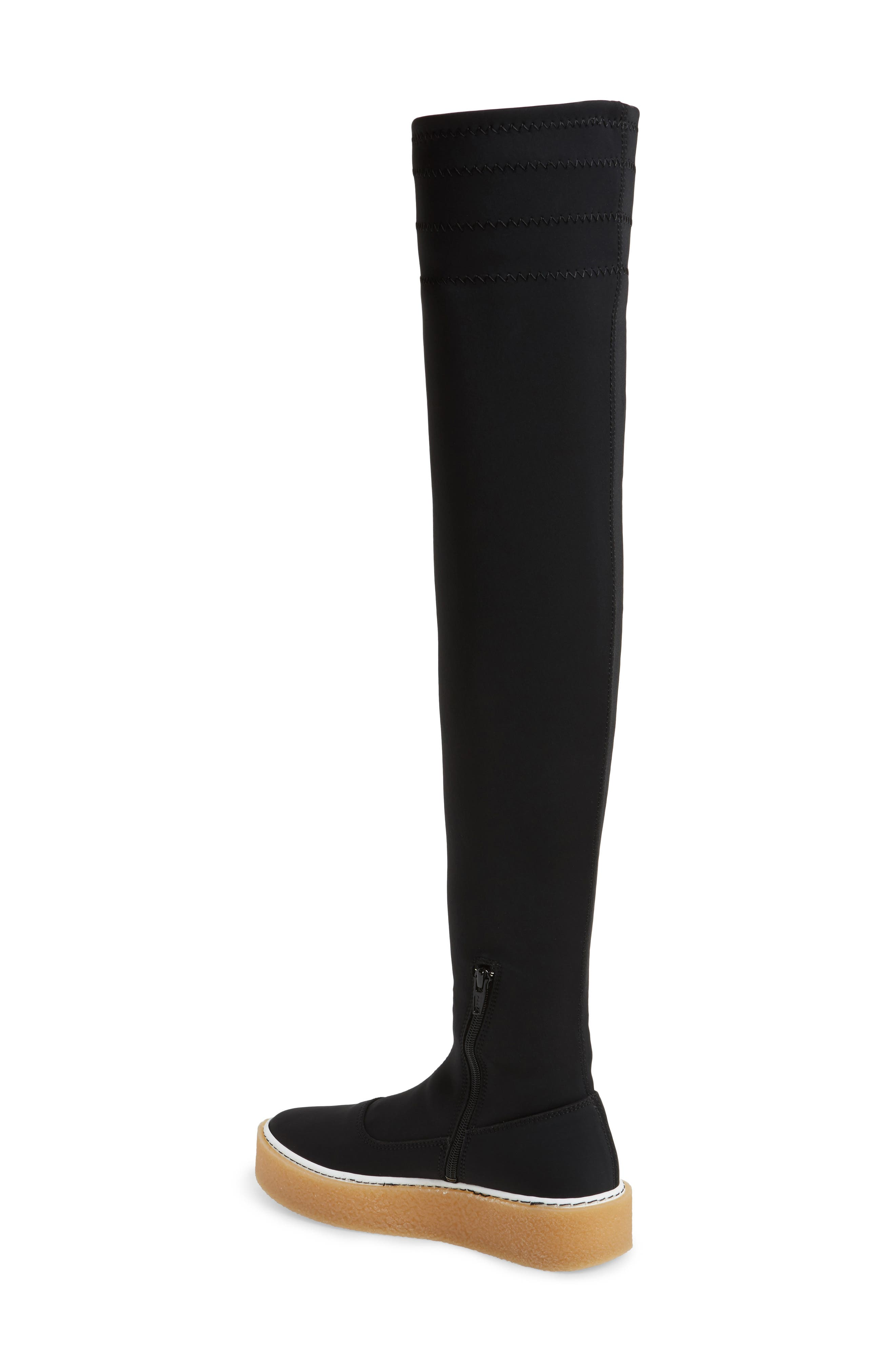 Alternate Image 2  - Free People Outer Limits Thigh High Boot (Women)