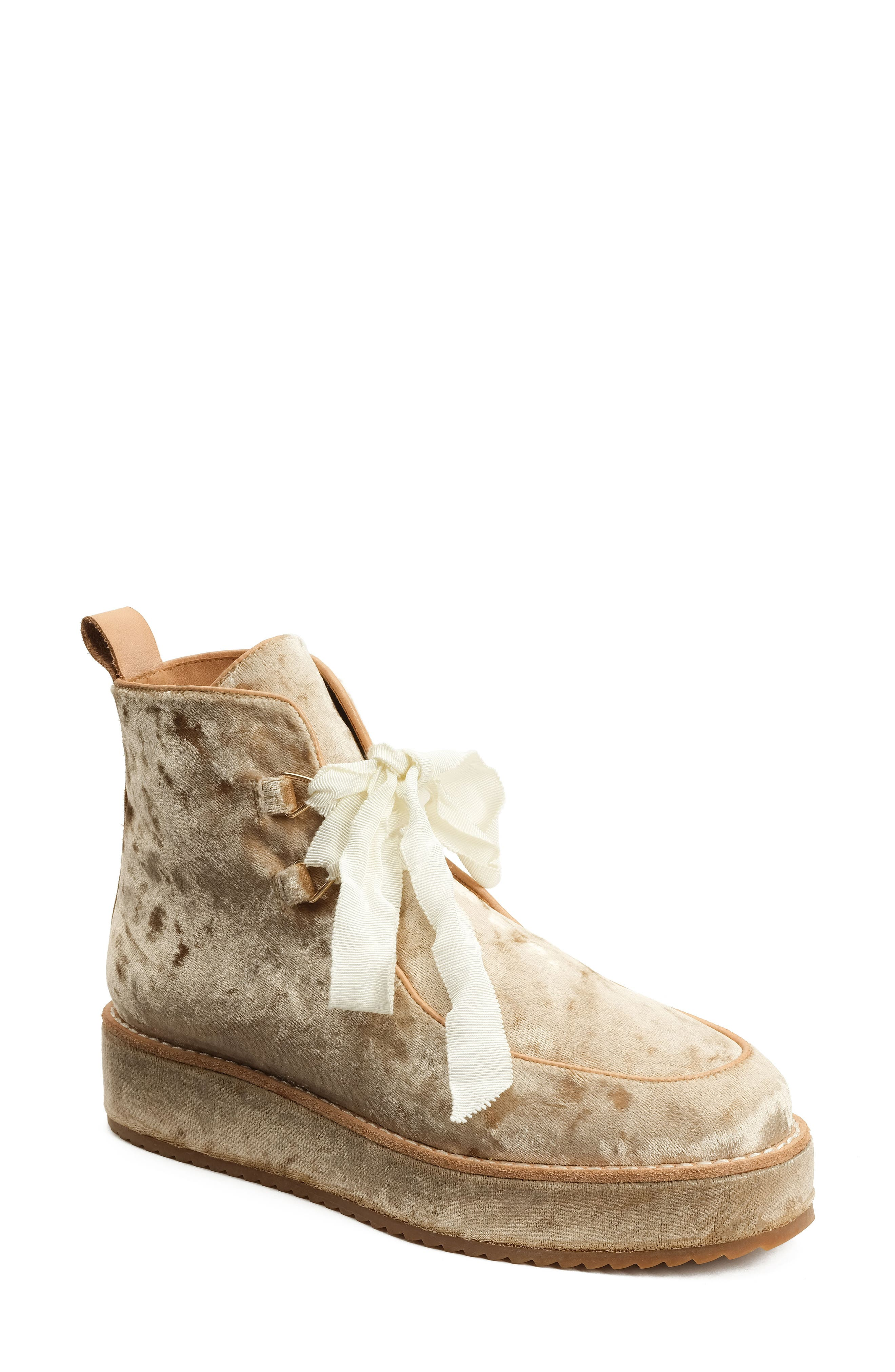 Alternate Image 1 Selected - Bill Blass Penny Sutton Chukka Boot (Women)