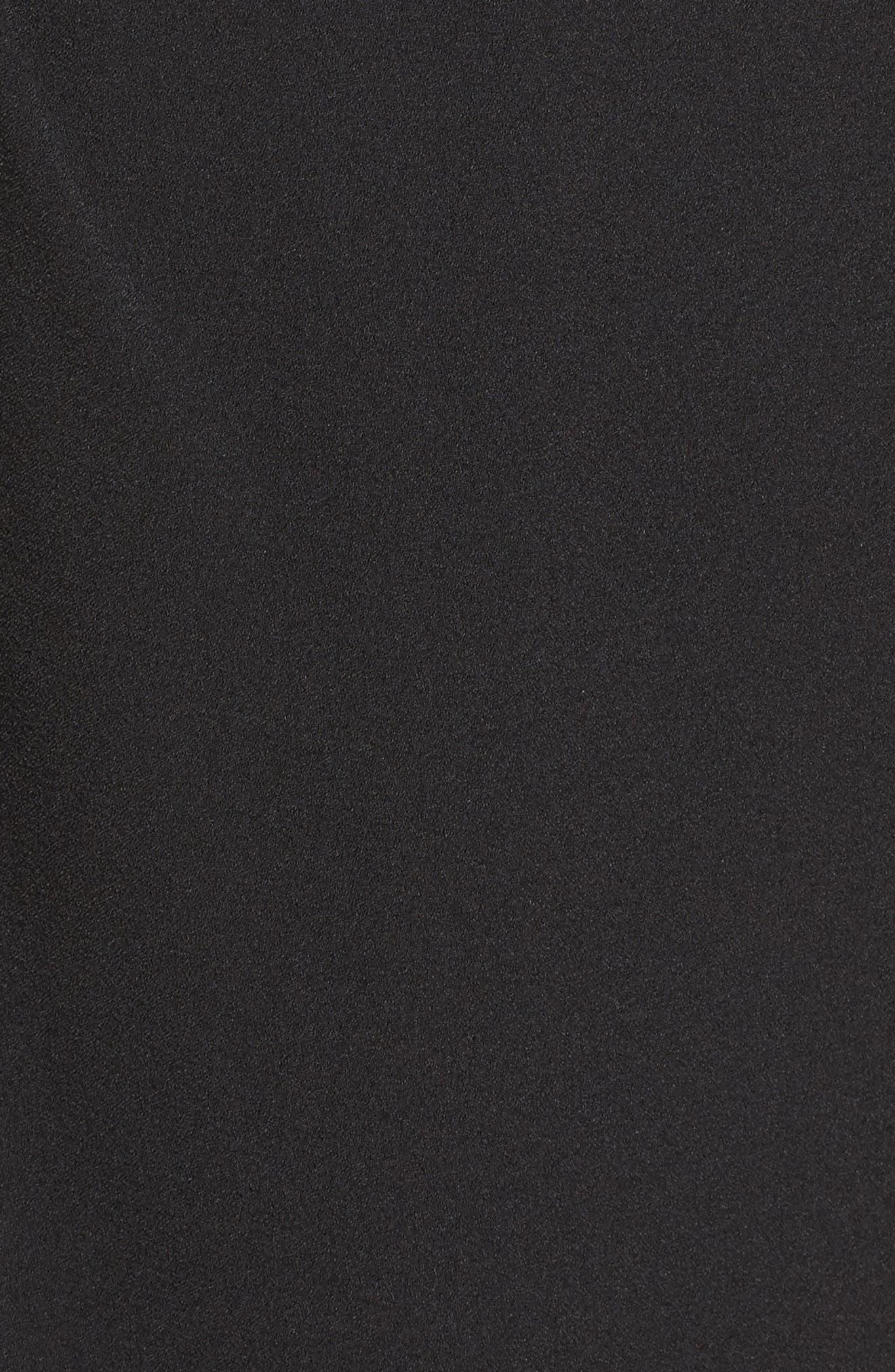 Alternate Image 5  - Eliza J Embellished Ruffle Sheath Dress
