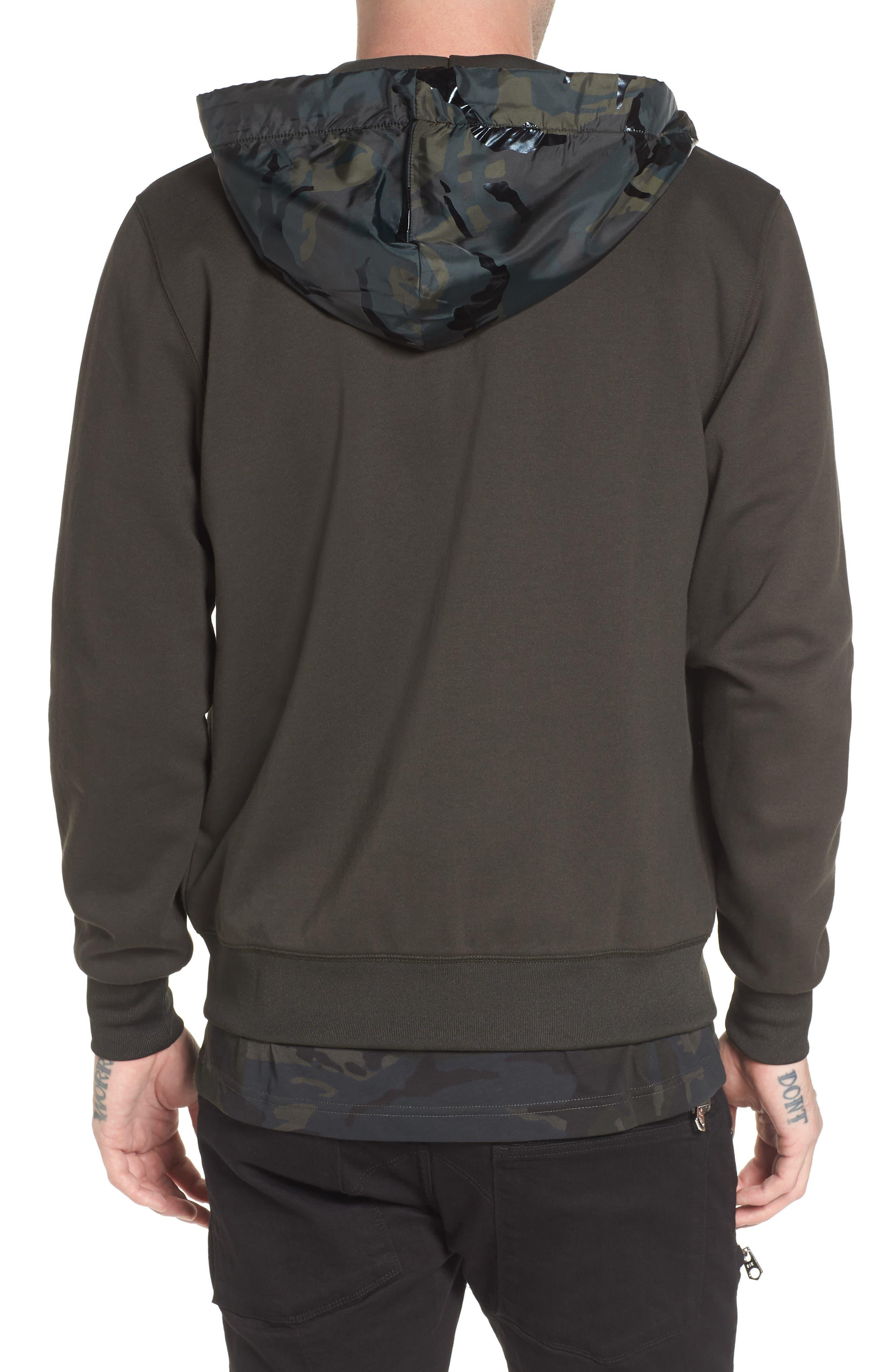 Alternate Image 2  - G-Star Raw Core Hooded Zip Sweatshirt