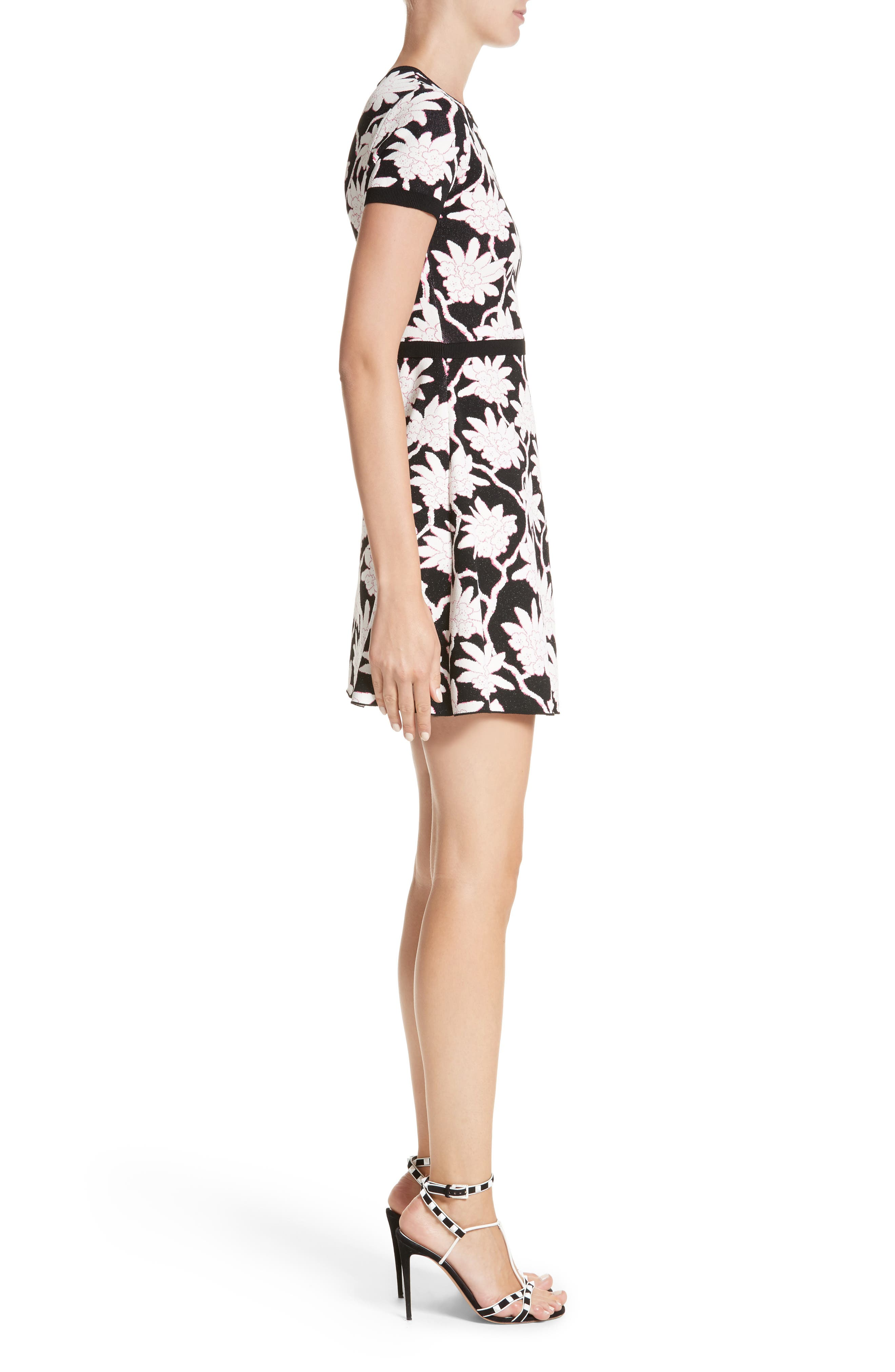 Alternate Image 3  - Valentino Rhododendron Jacquard Dress