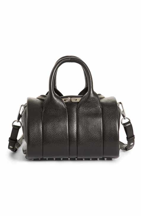 Alexander Wang Rockie - Nickel Leather Satchel