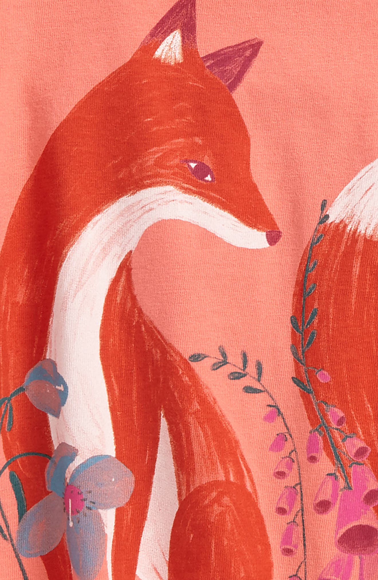 Alternate Image 2  - Tea Collection Orain Twirl Top (Toddler Girls, Little Girls & Big Girls)