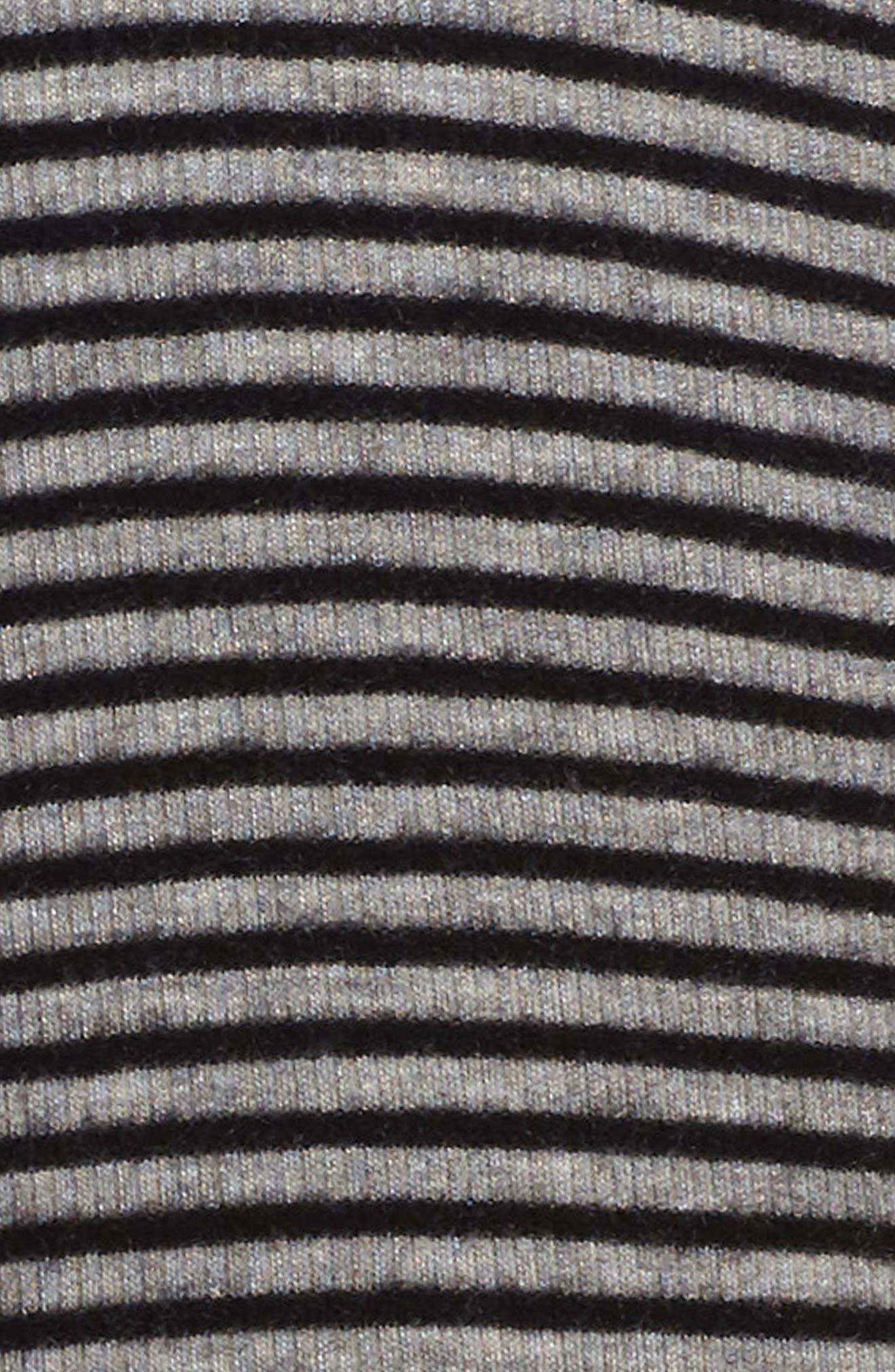 Alternate Image 3  - Kiddo Mixed Media Stripe Dress (Big Girls)