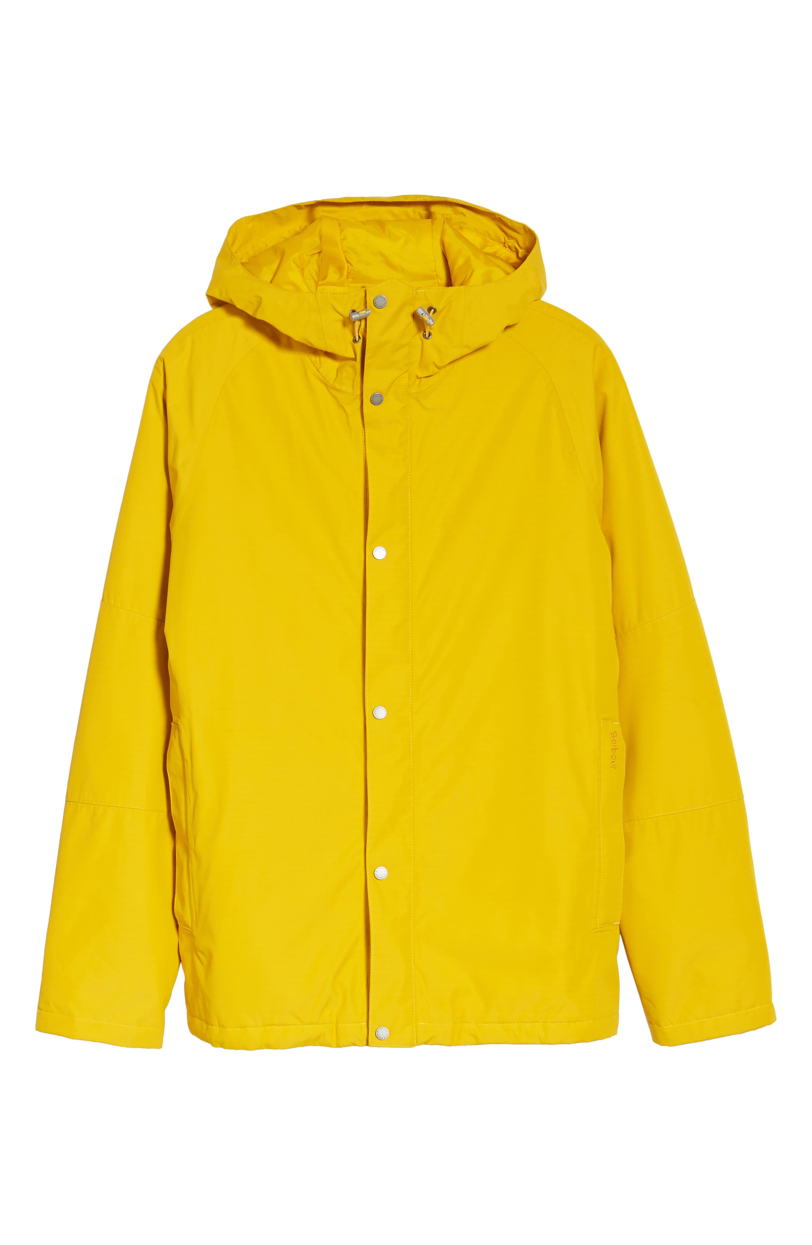 Rydal Waterproof Hooded Jacket,                             Alternate thumbnail 6, color,                             Canary Yellow
