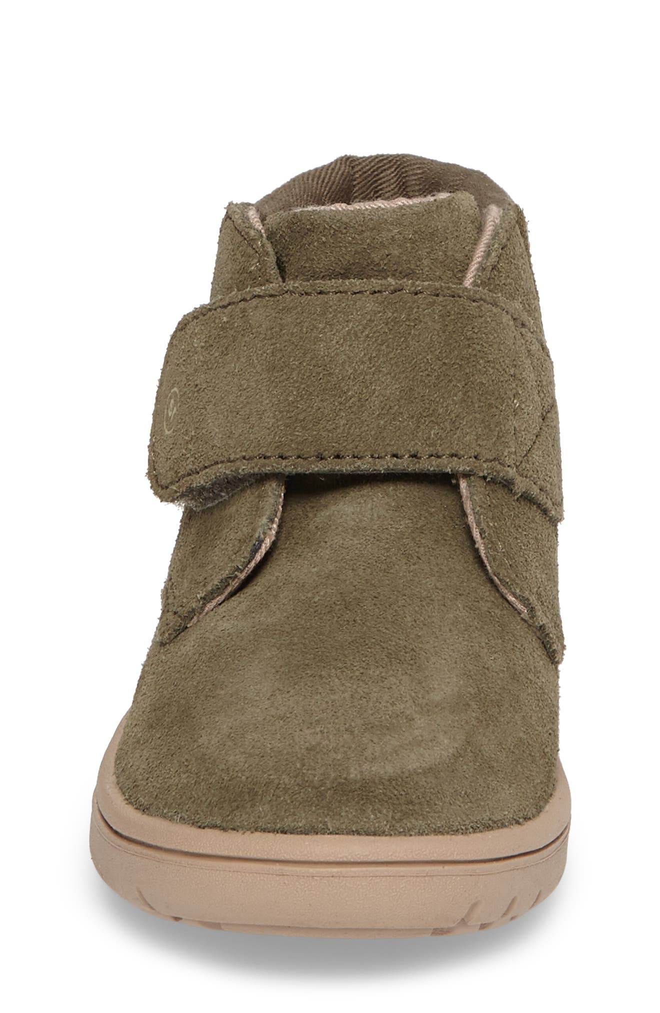 SRtech<sup>™</sup> Lincoln Bootie,                             Alternate thumbnail 4, color,                             Dark Green Suede
