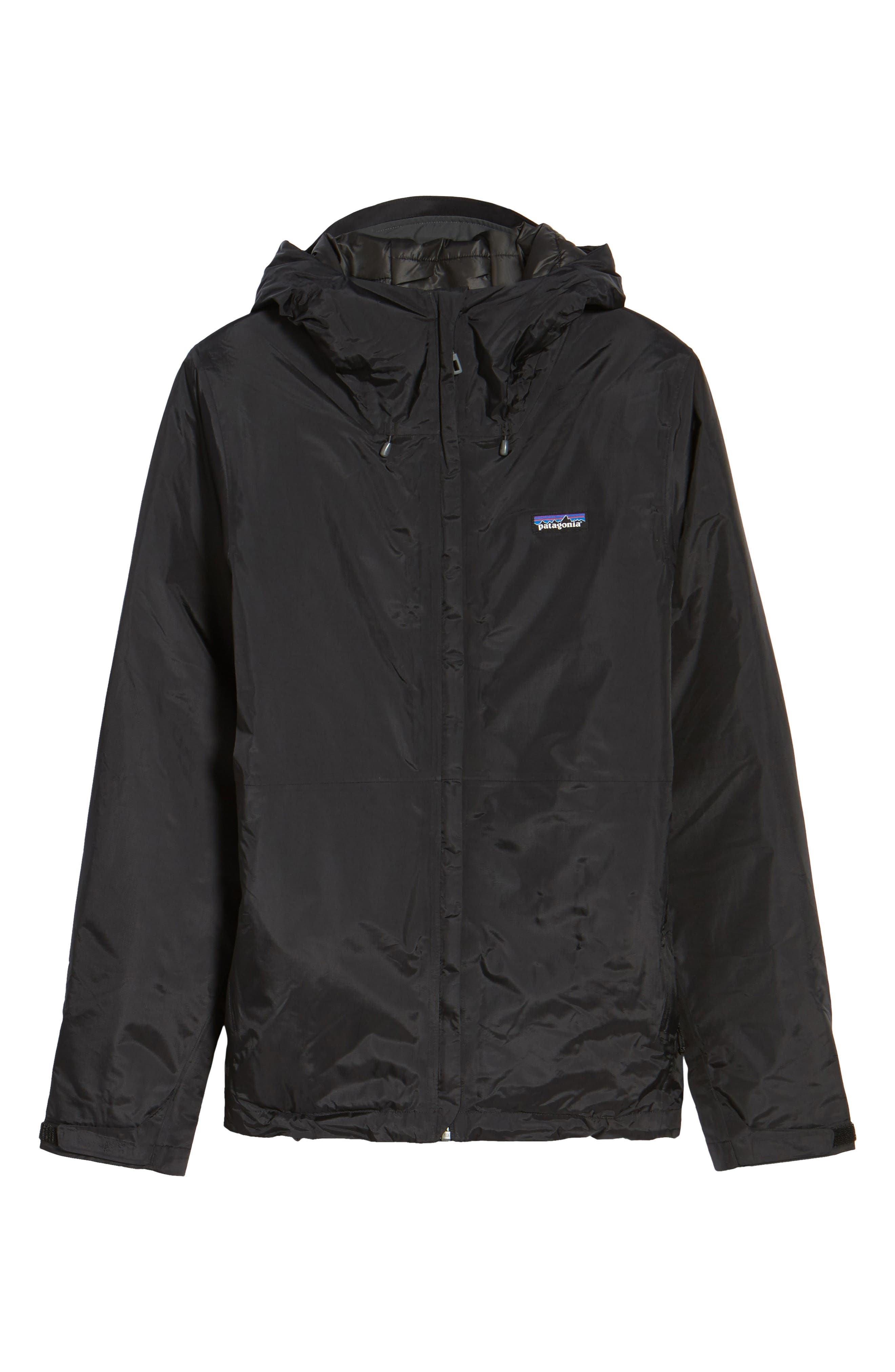 Torrentshell H2No<sup>®</sup> Packable Insulated Rain Jacket,                             Alternate thumbnail 6, color,                             Black