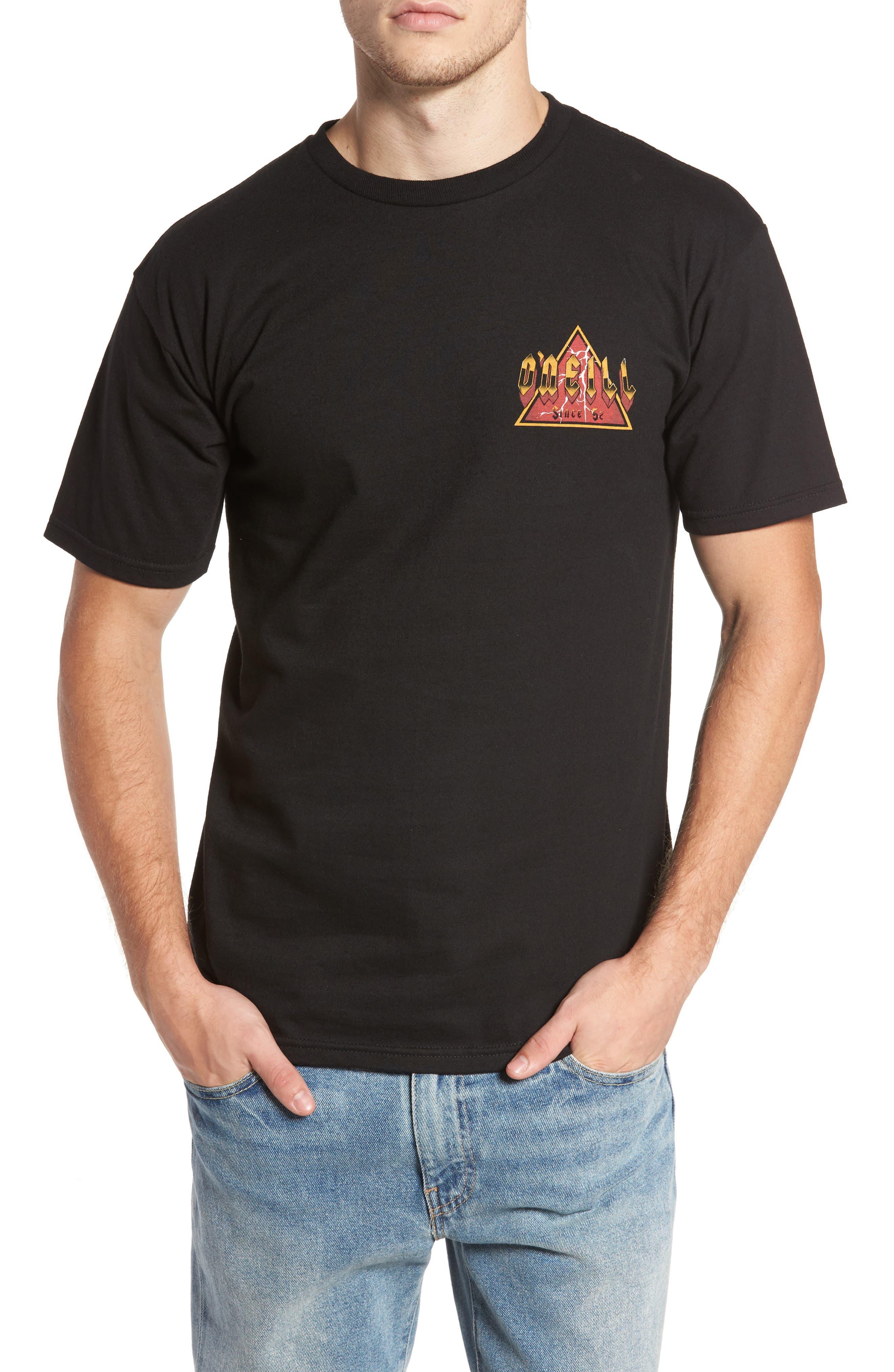 Metal Madness Graphic T-Shirt,                             Main thumbnail 1, color,                             Black