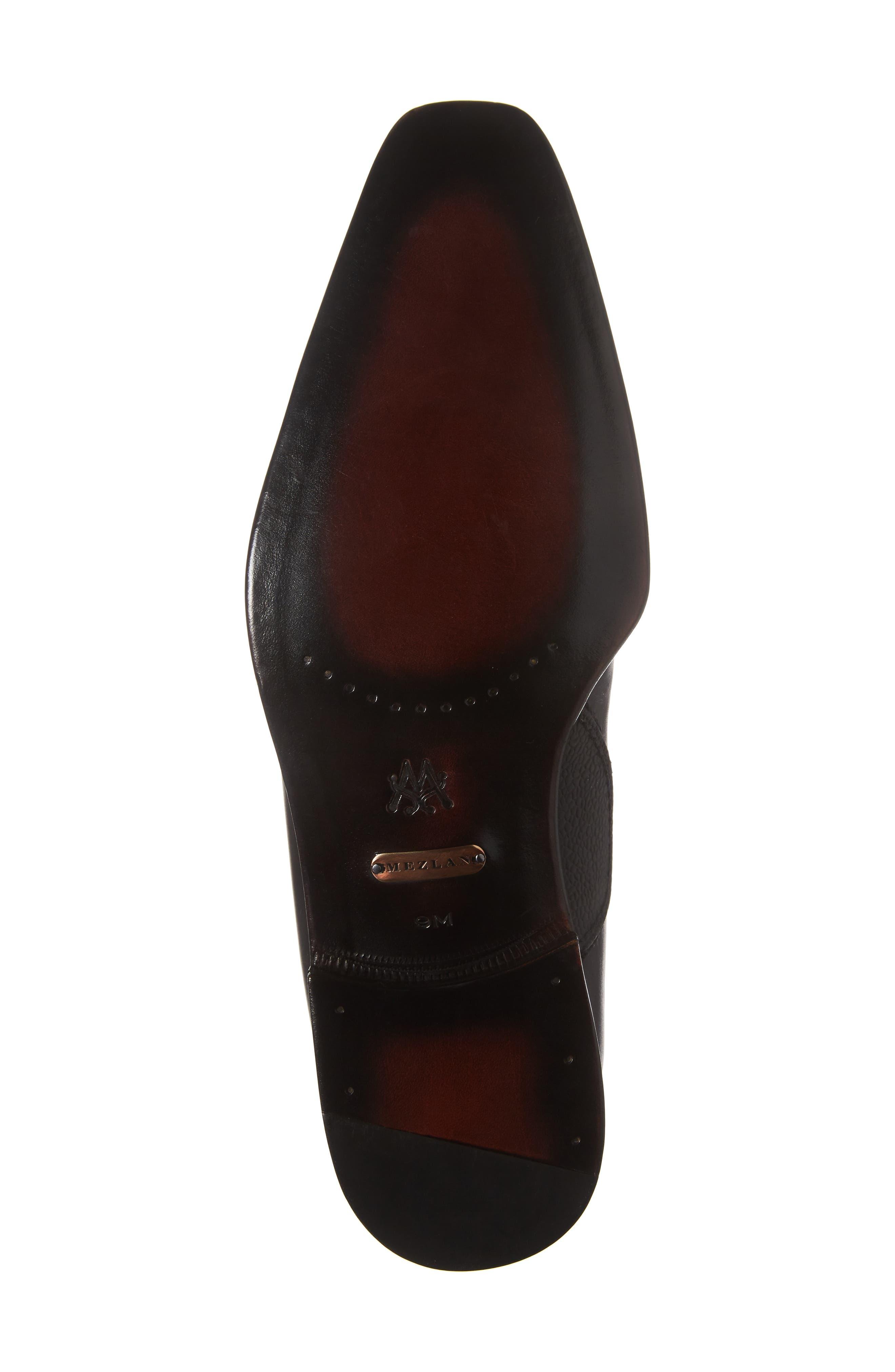 Moriles Chukka Boot,                             Alternate thumbnail 6, color,                             Black Leather