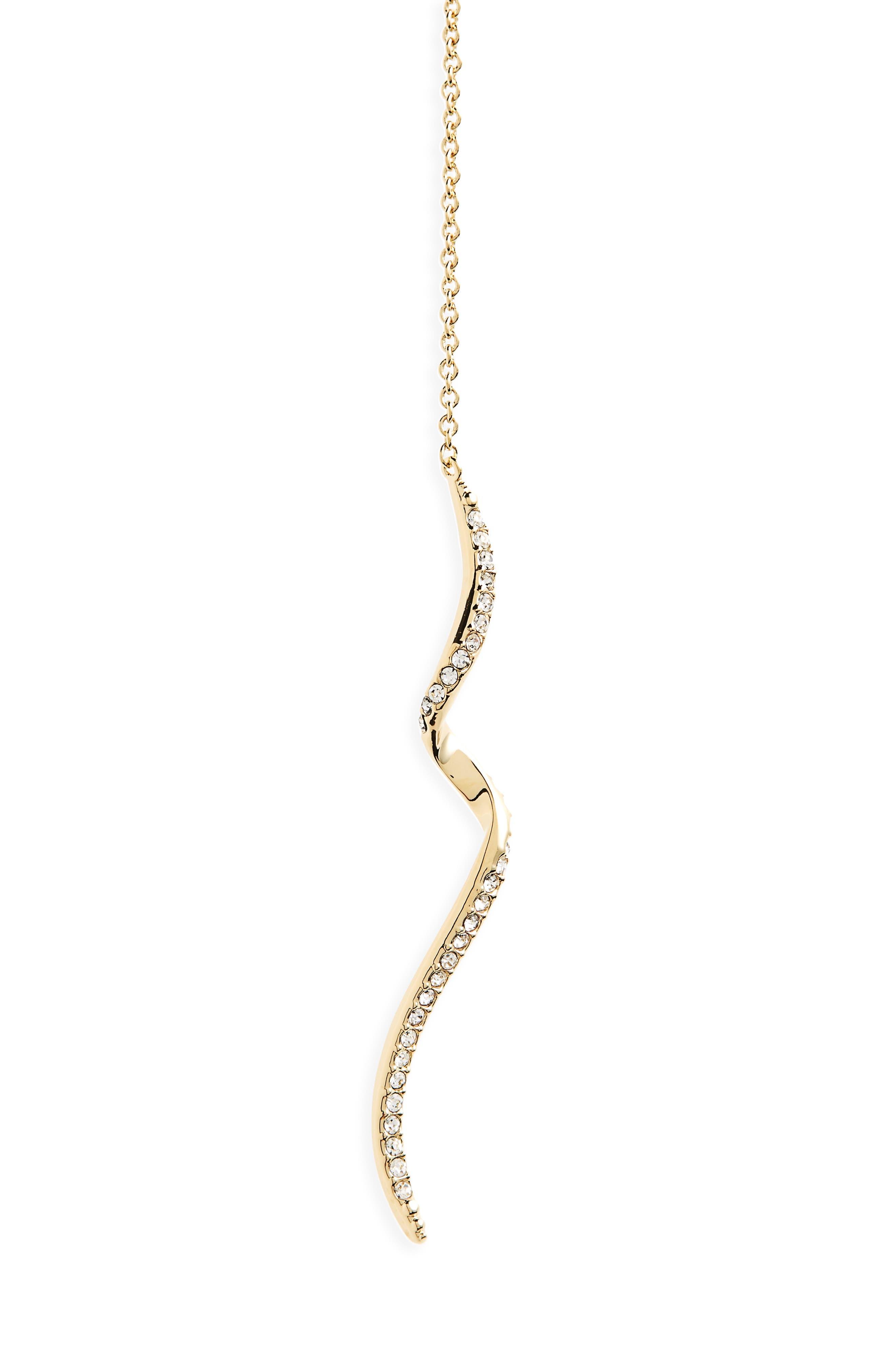 Alternate Image 2  - Nadri Citron Crystal Y-Necklace