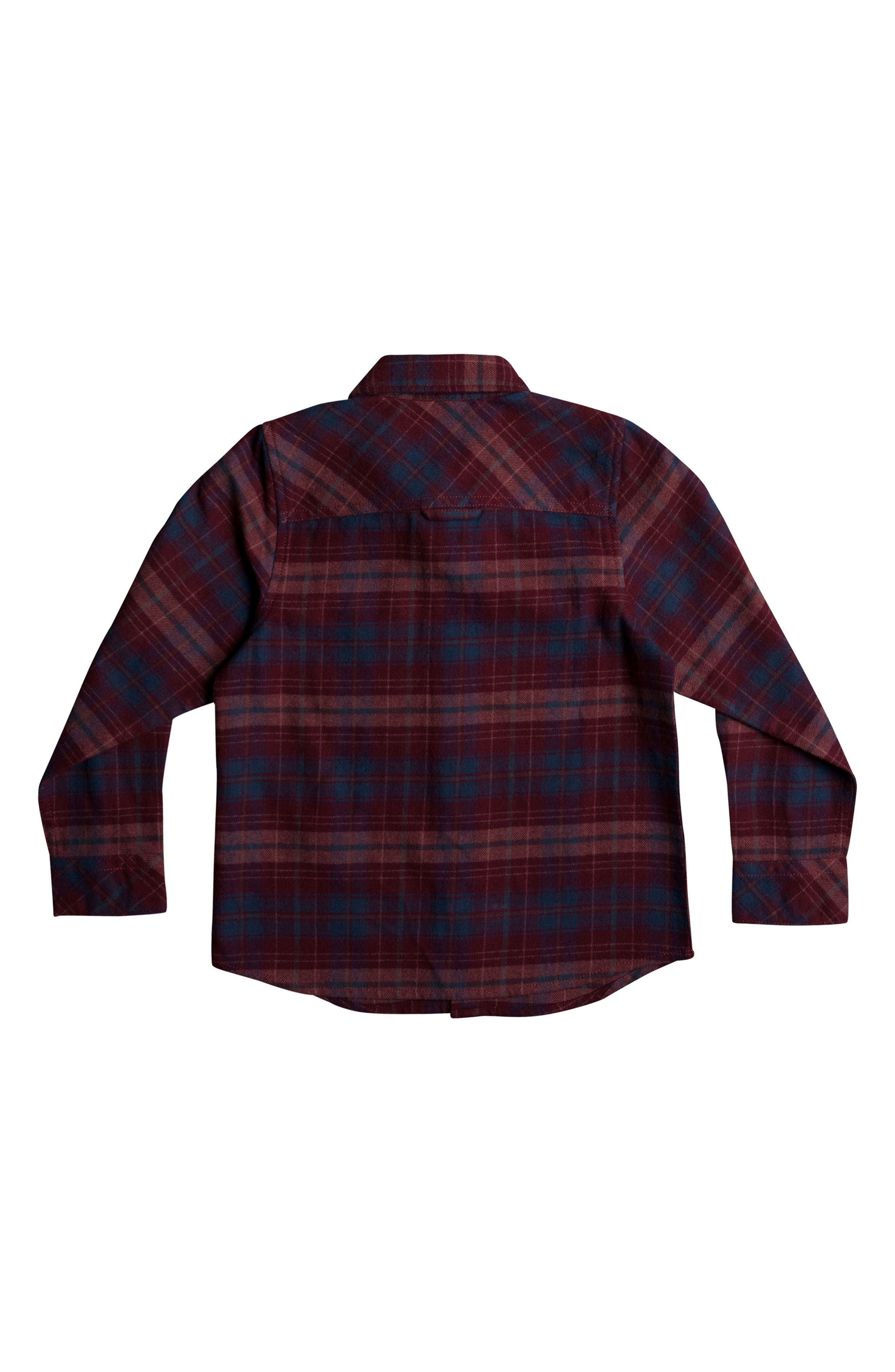 Fitzspeere Plaid Flannel Shirt,                             Alternate thumbnail 2, color,                             Windsor