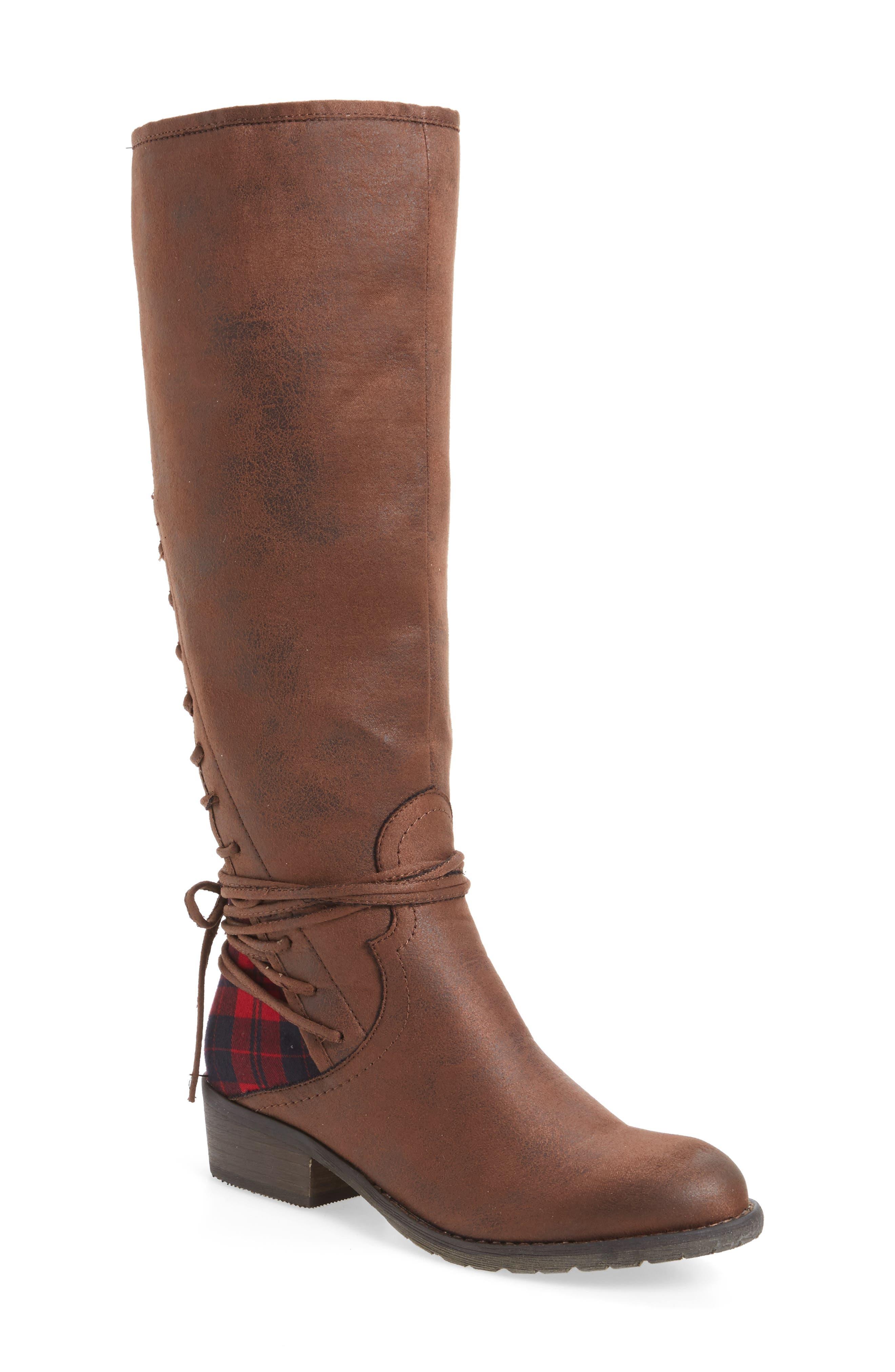 Very Volatile Marcel Corseted Knee High Boot (Women)