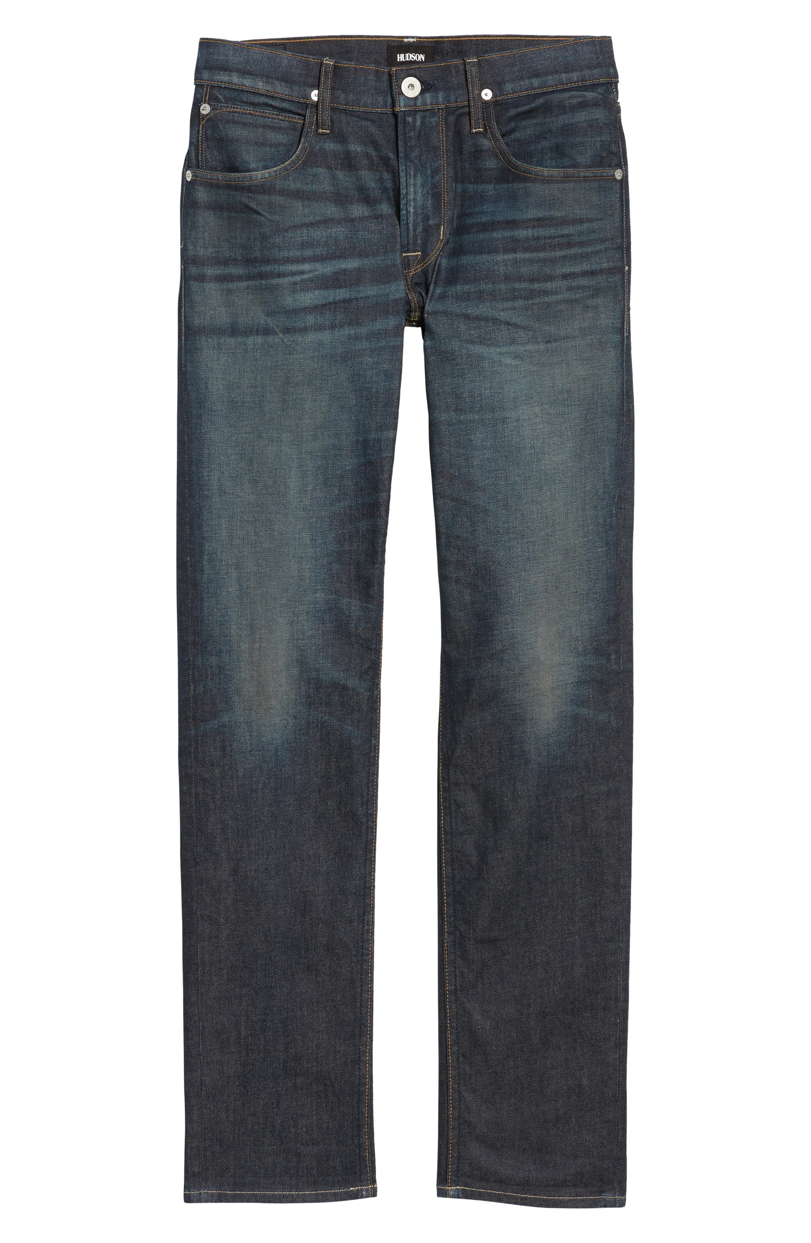 Alternate Image 7  - Hudson Jeans Blake Slim Fit Jeans (Crusher)