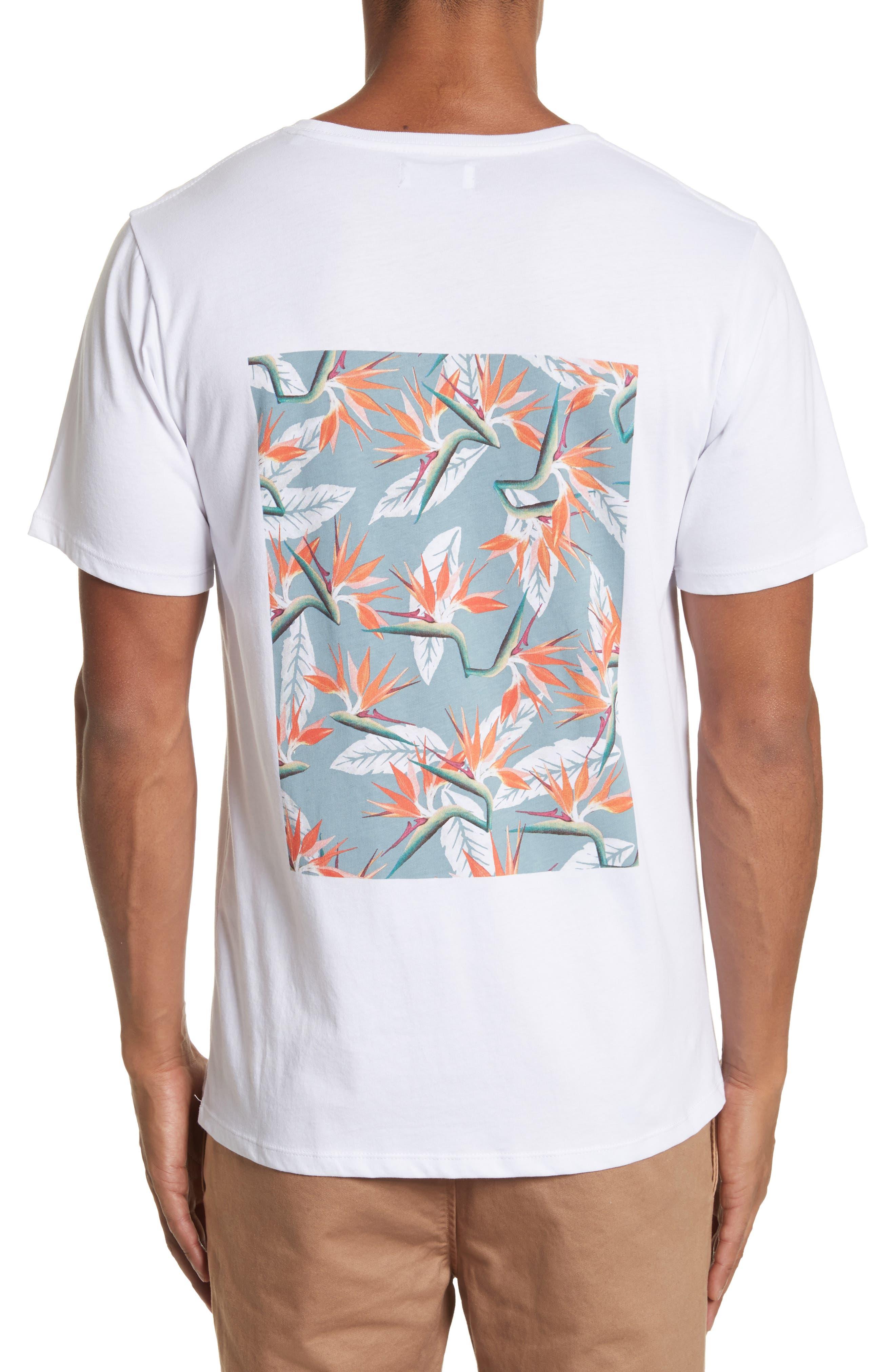 Paradise Graphic T-Shirt,                             Alternate thumbnail 2, color,                             White