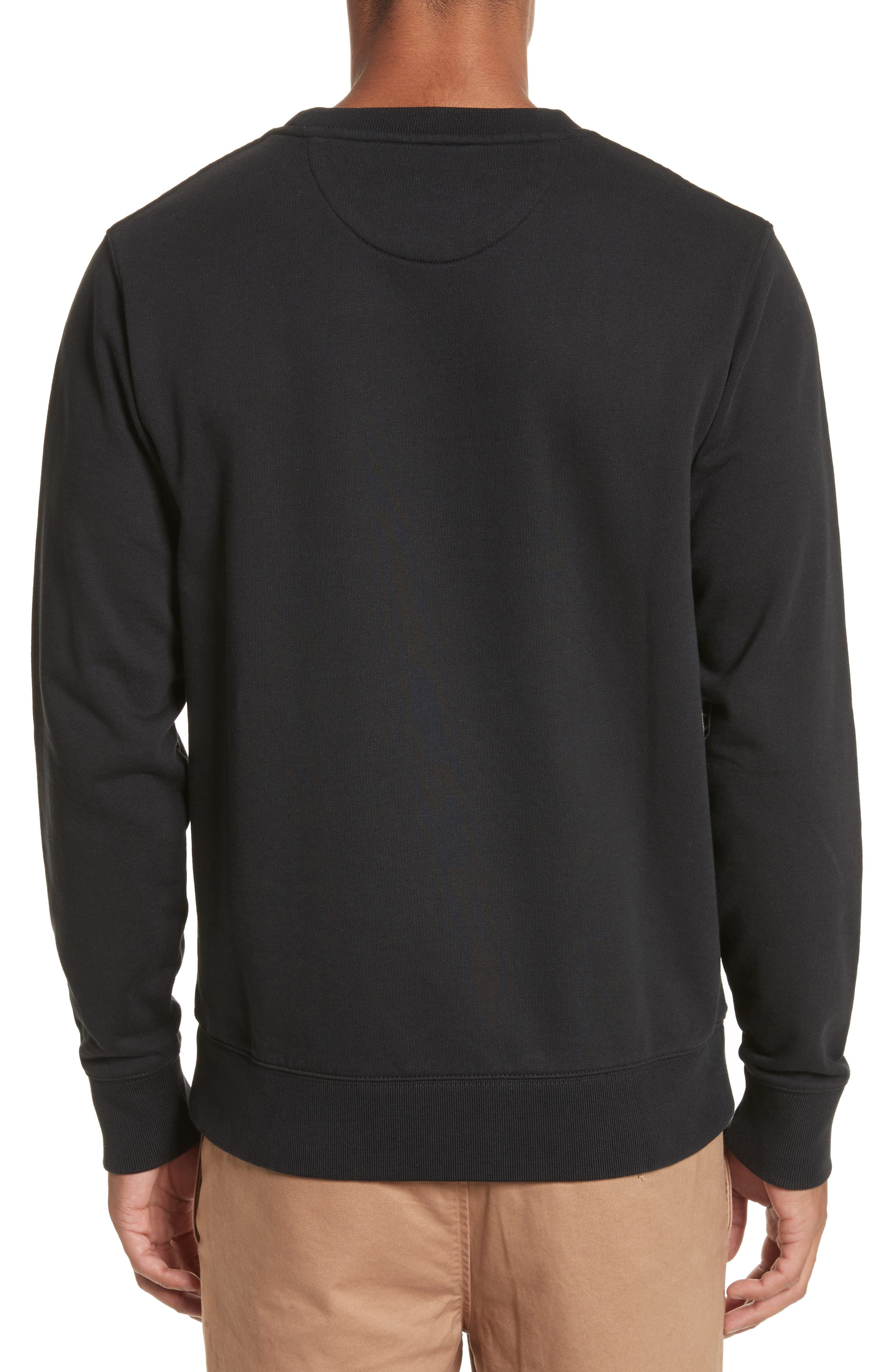 Bowery Miller Graphic Sweatshirt,                             Alternate thumbnail 2, color,                             Black