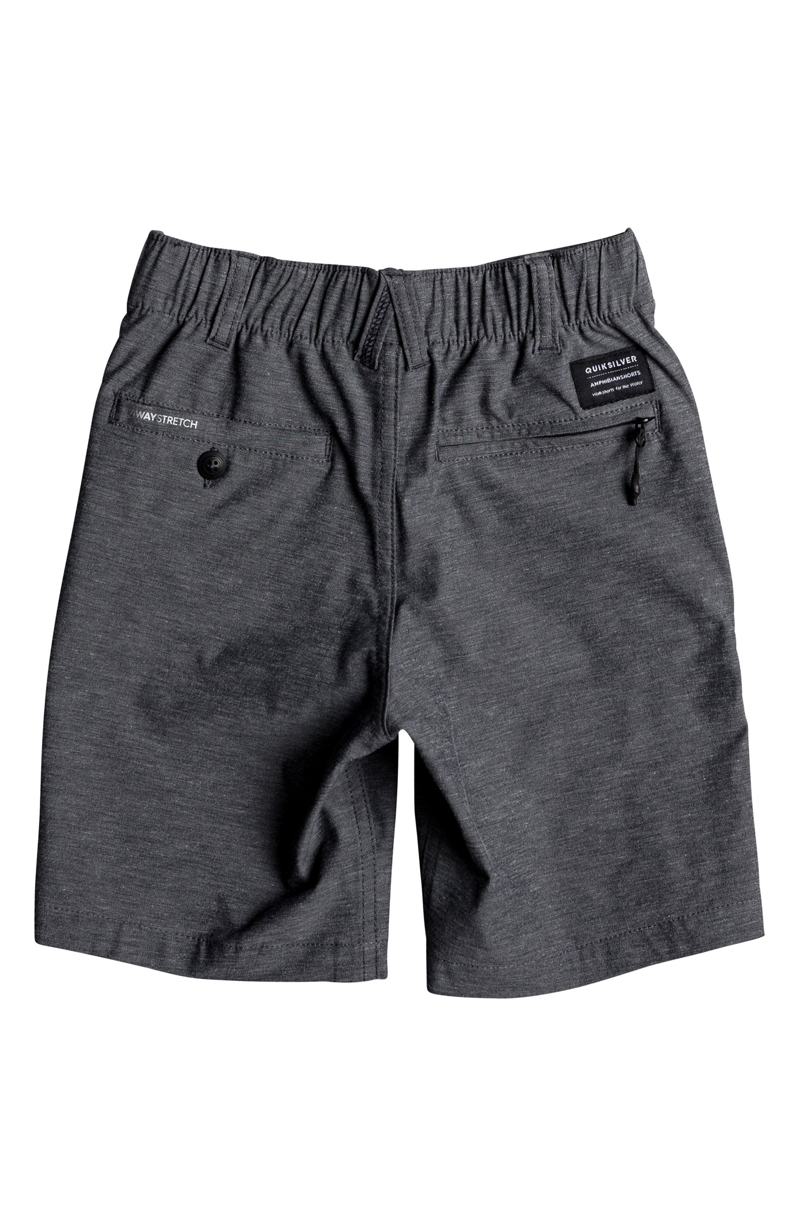 Alternate Image 2  - Quiksilver Union Heather Amphibian Board Shorts (Toddler Boys & Little Boys)