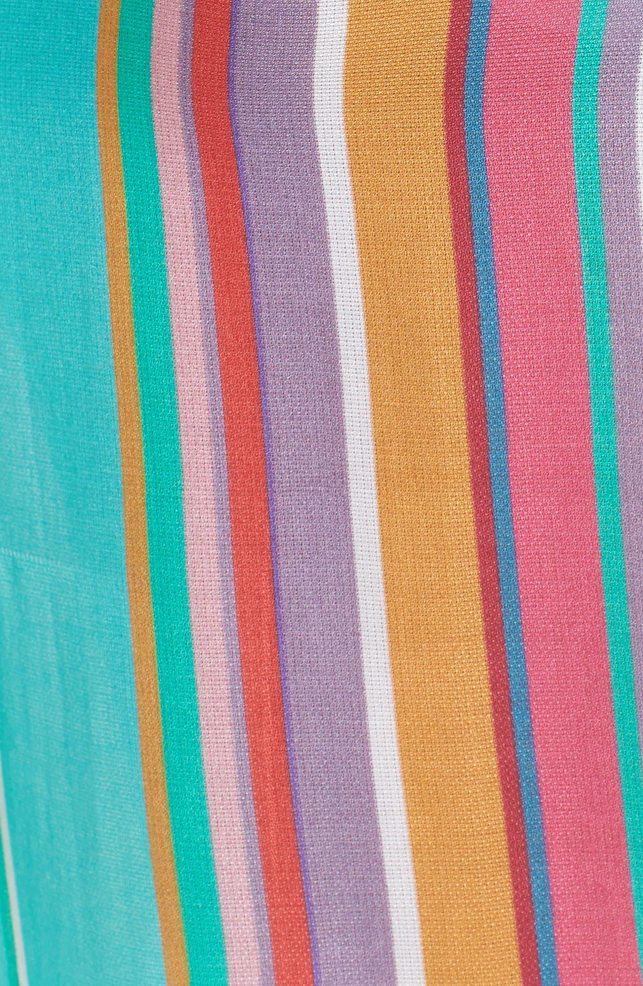 Sayulita Midi Vest Cover-Up,                             Alternate thumbnail 5, color,                             Multi