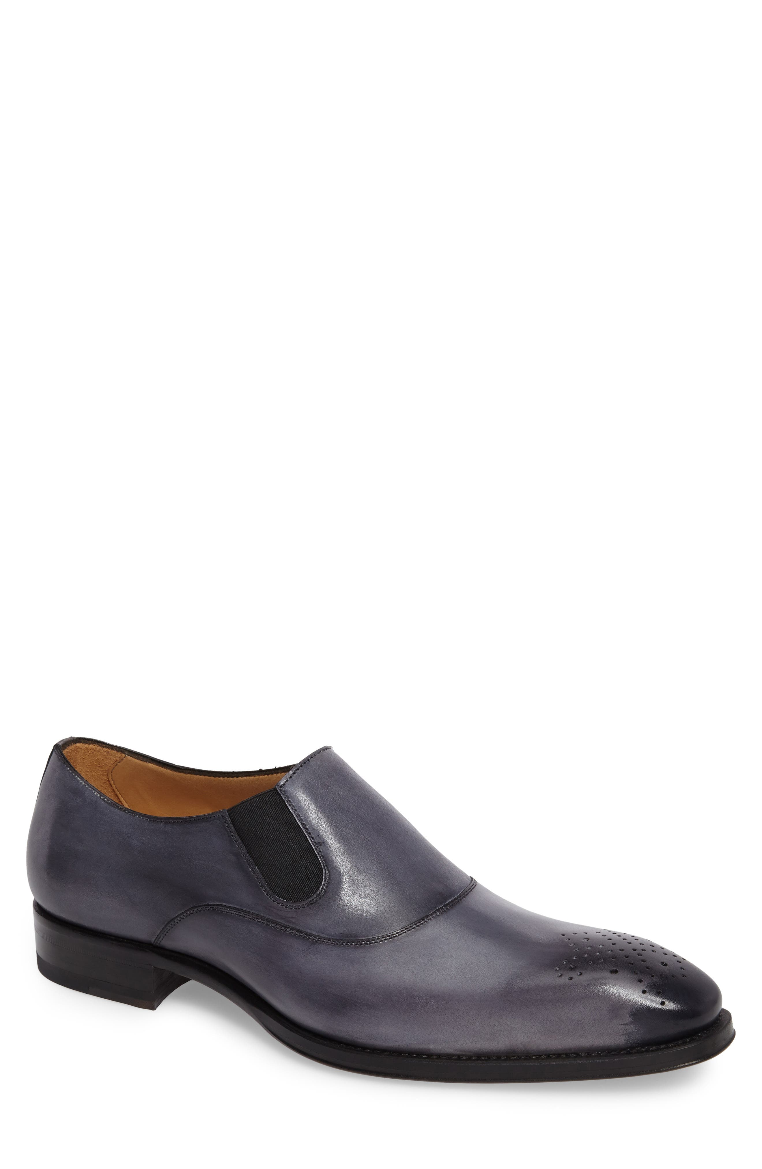 Posadas Venetian Loafer,                         Main,                         color, Grey Leather