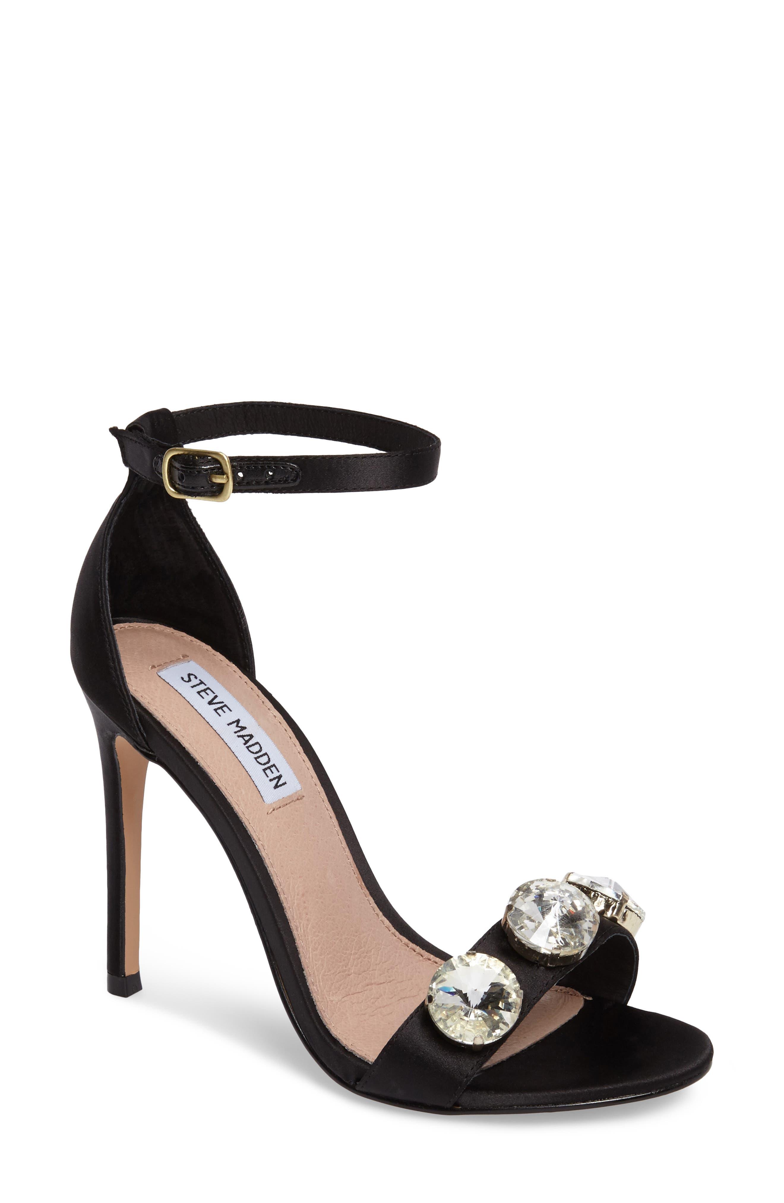 Alternate Image 1 Selected - Steve Madden Fabulous Embellished Sandal (Women)